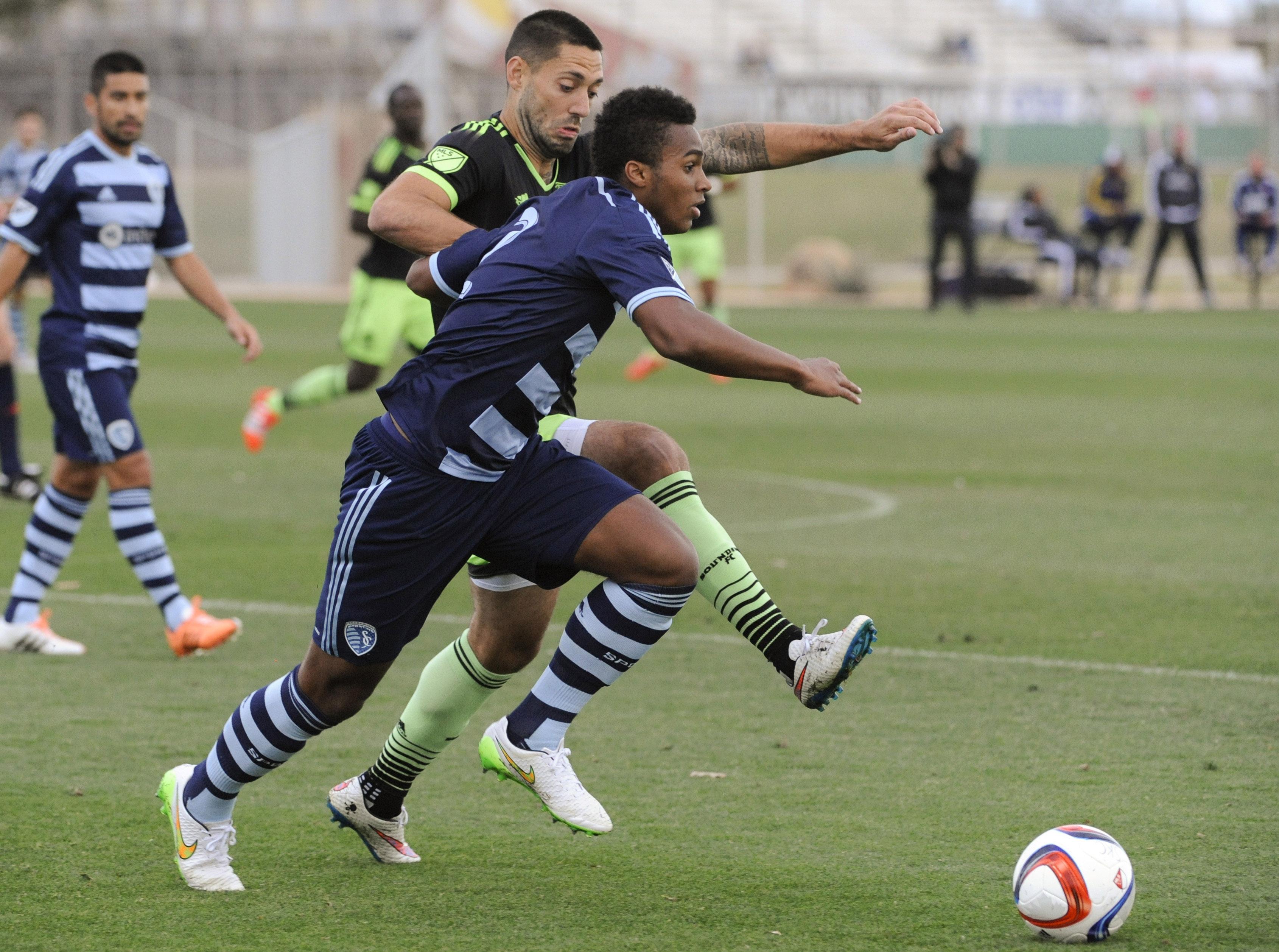 MLS: Preseason-Seattle Sounders vs Sporting Kansas City
