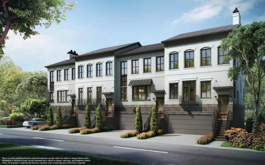 The Whitefoord townhouses near the Edgewood MARTA station.