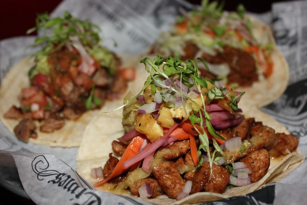 Tacos at Bandita Brighton