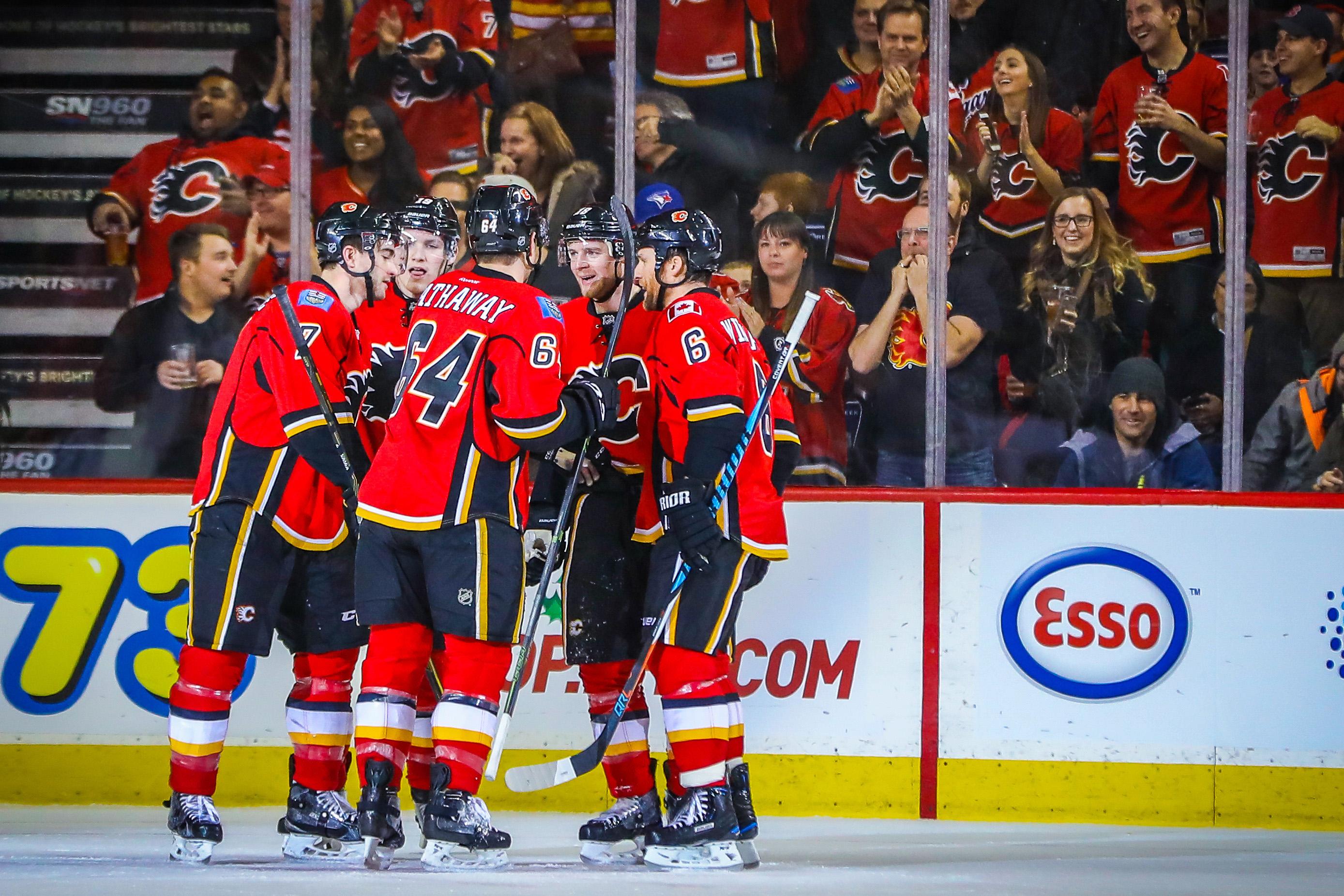 NHL: Anaheim Ducks at Calgary Flames