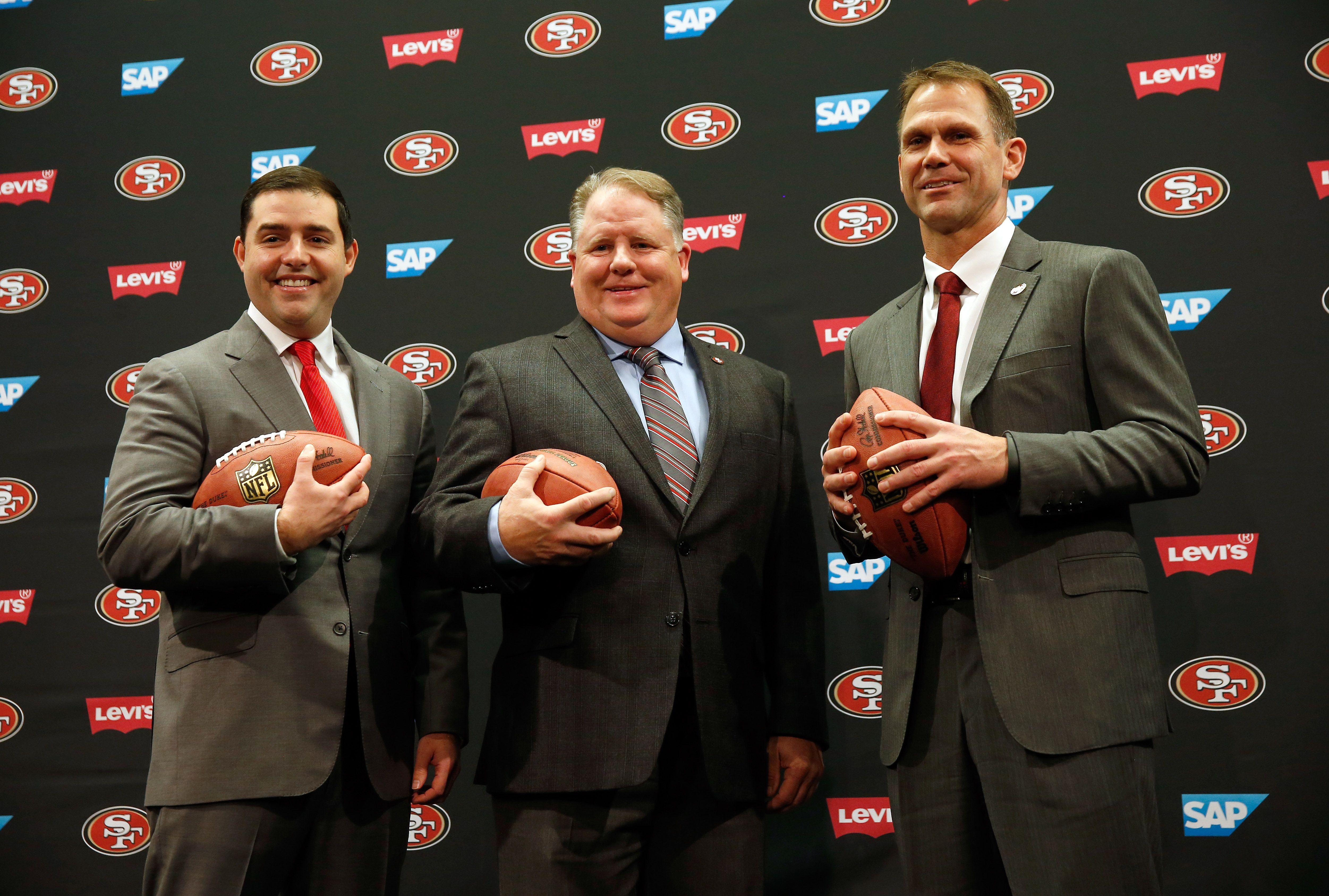 San Francisco 49ers Introduce Chip Kelly