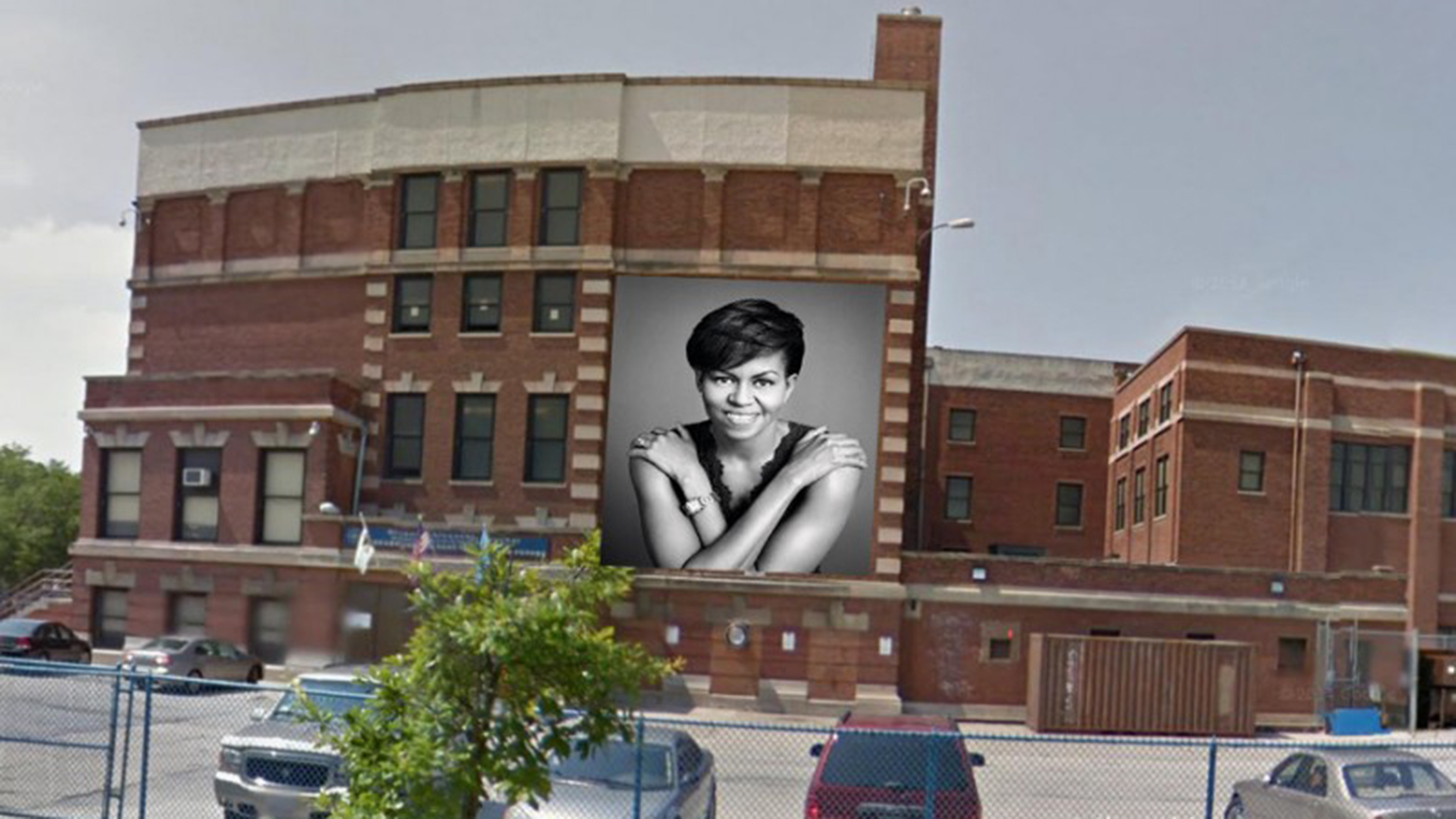 Art Schools In Chicago >> Michelle Obama Mural Planned For South Side Chicago School