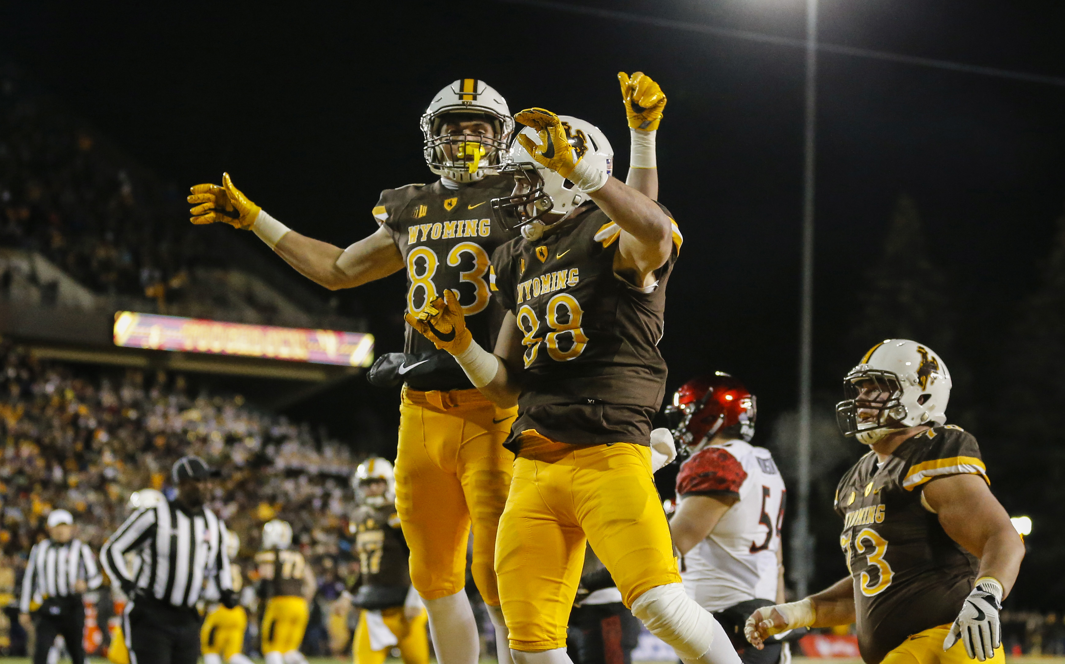NCAA Football: Mountain West Championship-San Diego State at Wyoming