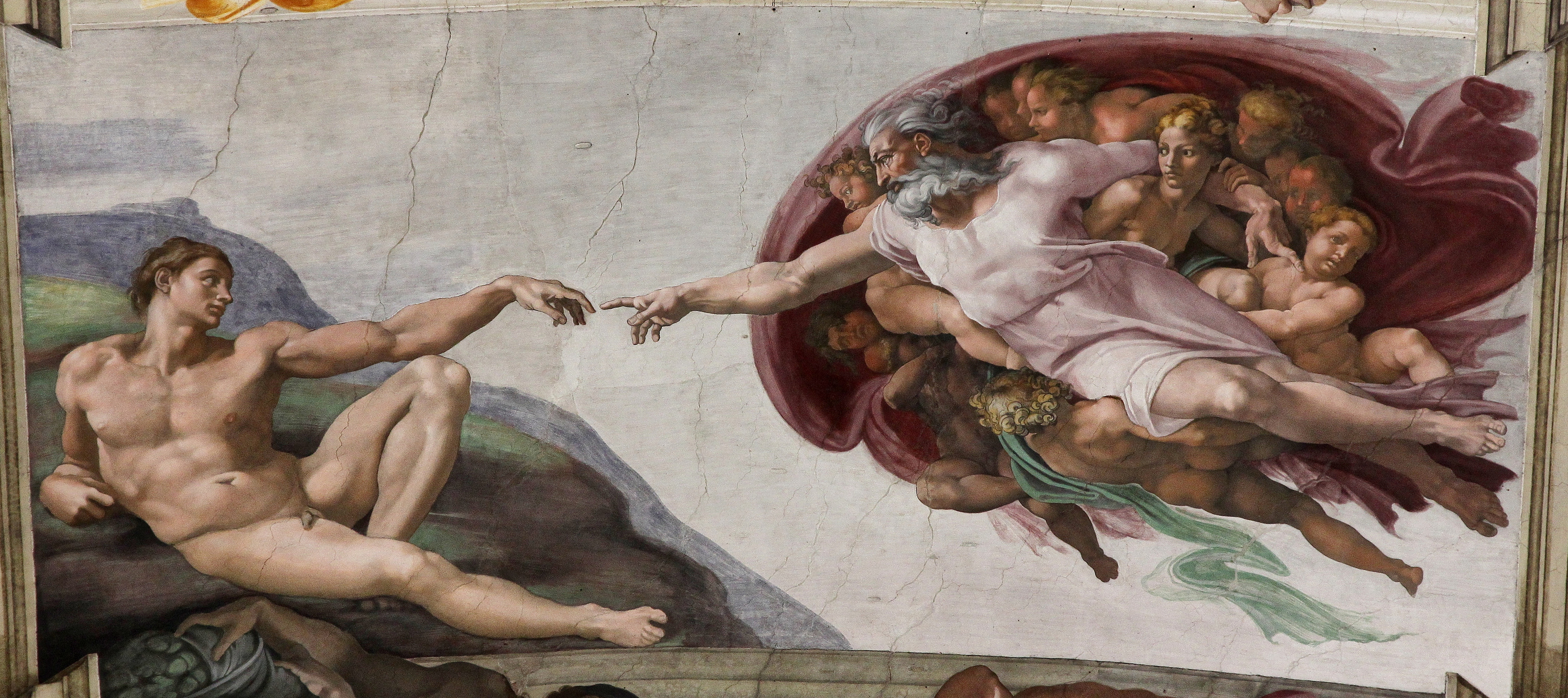 Does The Michelangelo Painting In The Westworld Finale Really Show A - It painting