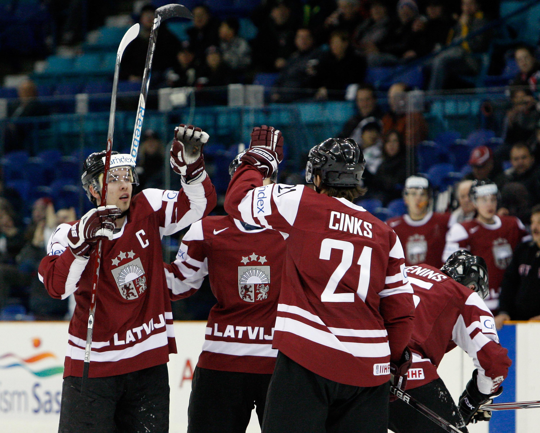 IIHF World Junior Championship - Austria v Latvia