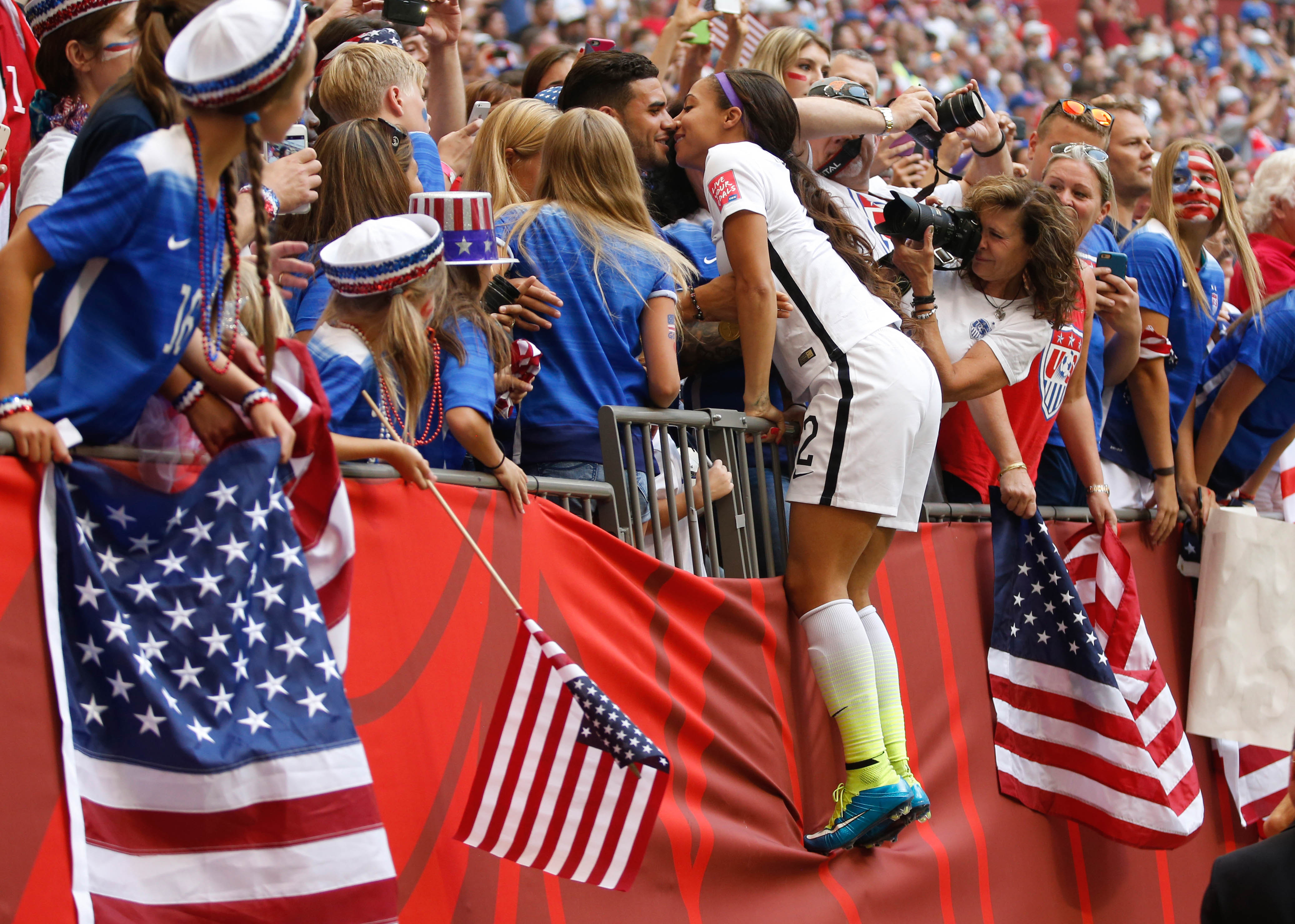 Soccer: Women's World Cup-Final -Japan at United States