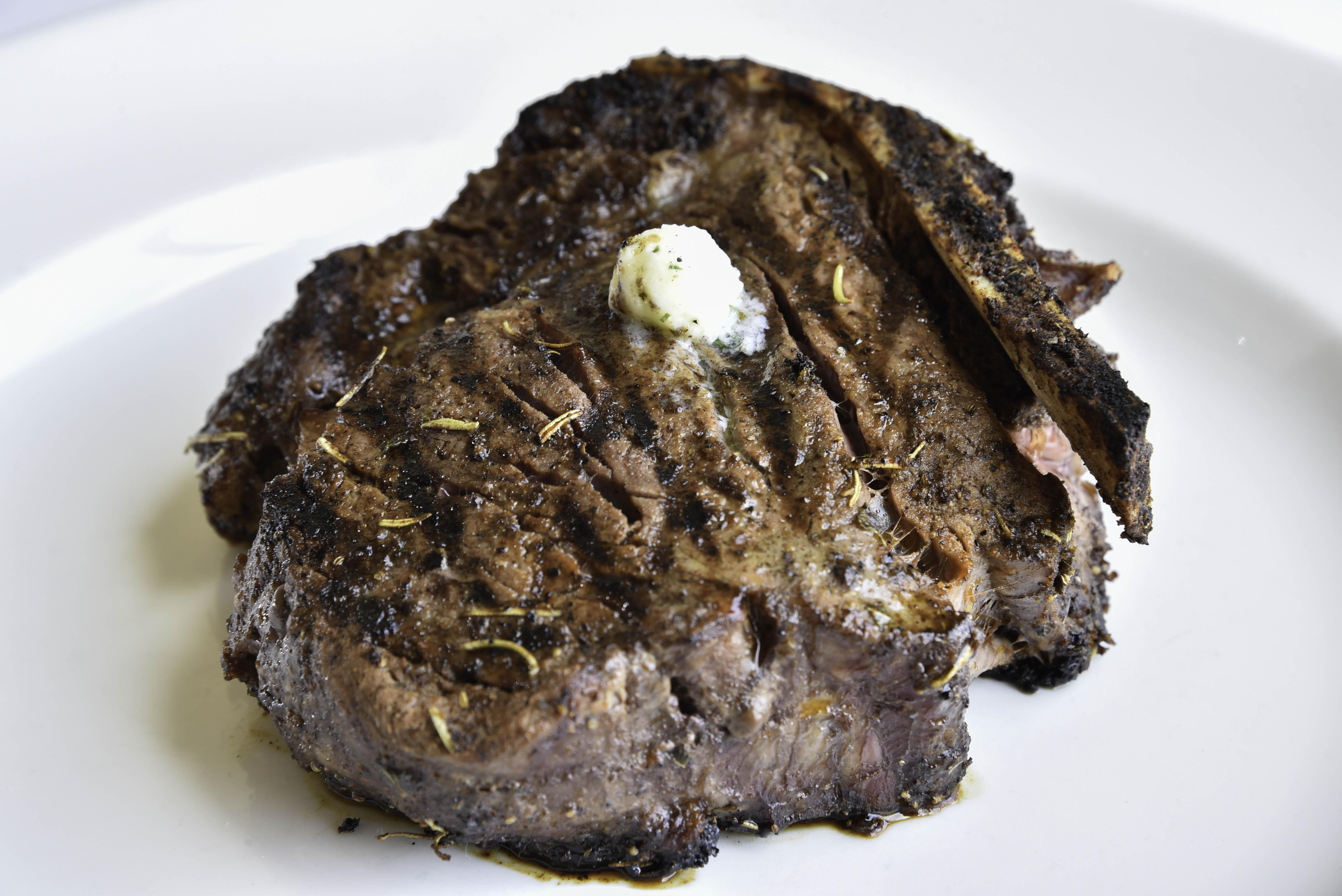 Bone-in filet at Morels