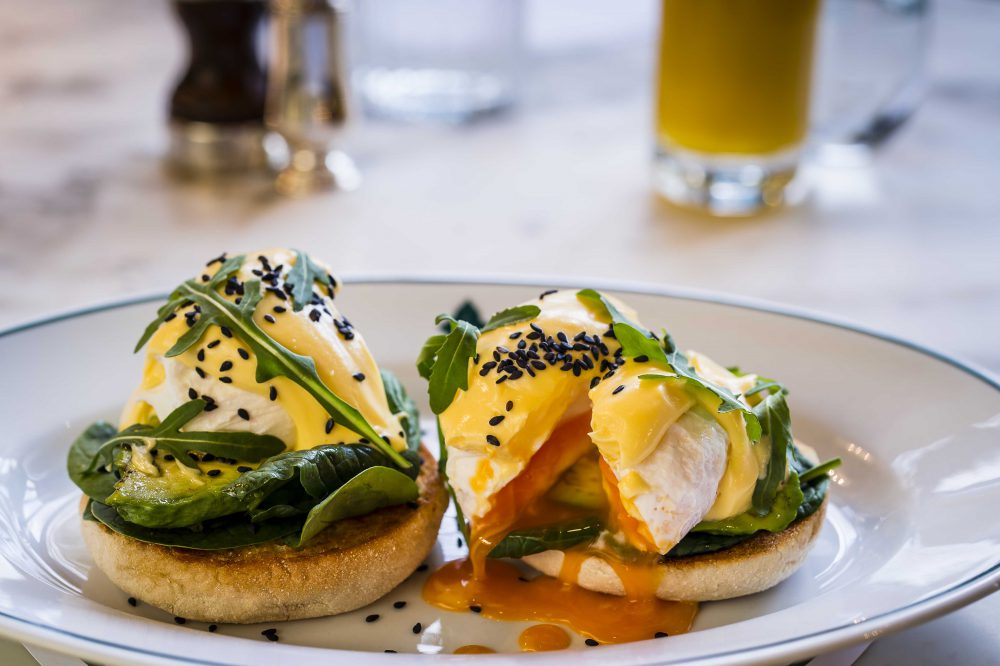 Avocado and Spinach Benedict