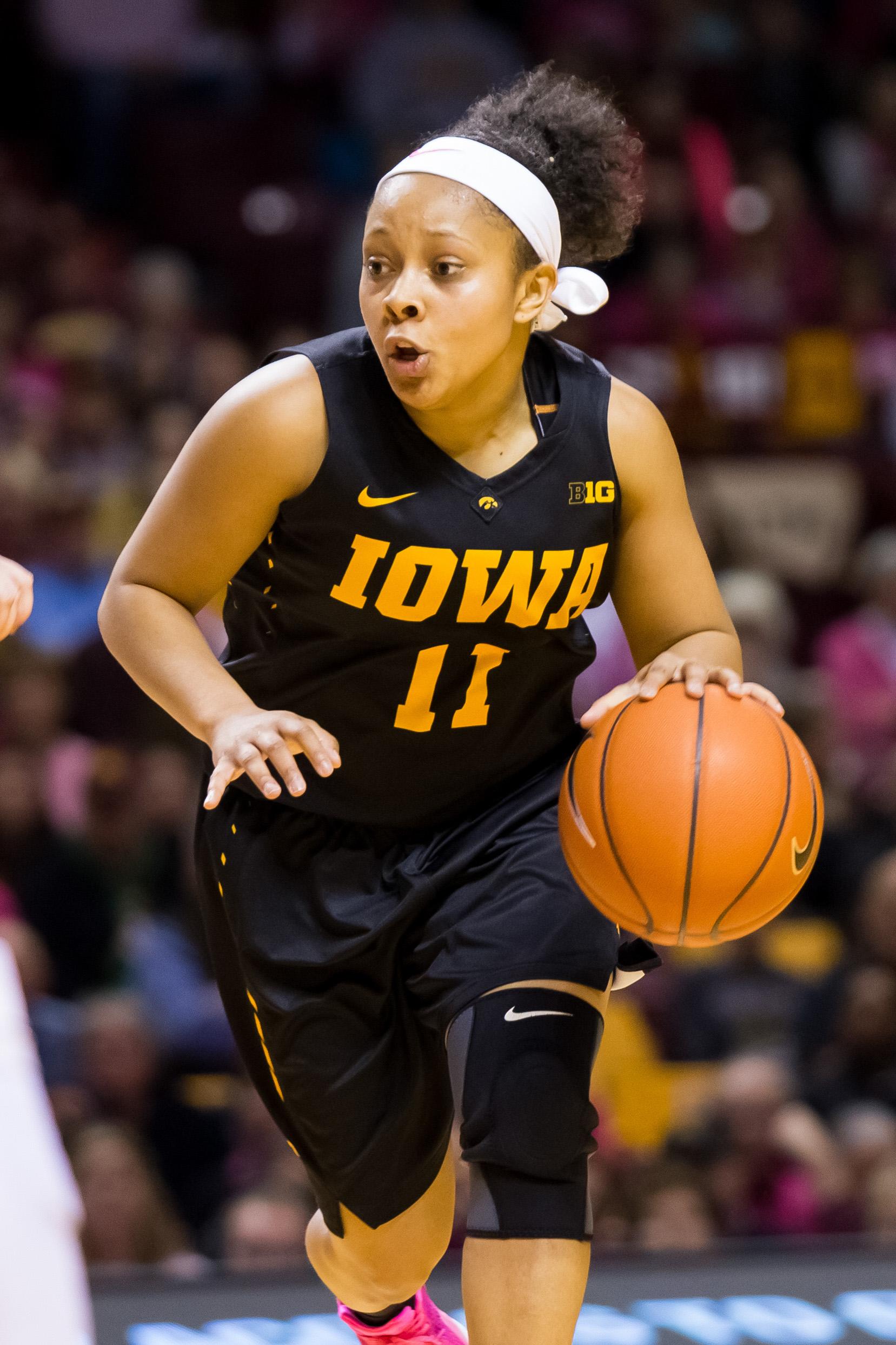NCAA Womens Basketball: Iowa at Minnesota