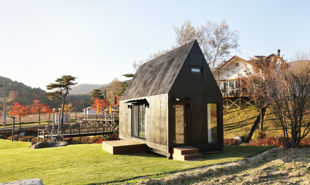 Eco-friendly tiny house was designed to host visitors to the 2018 Winter Olympics