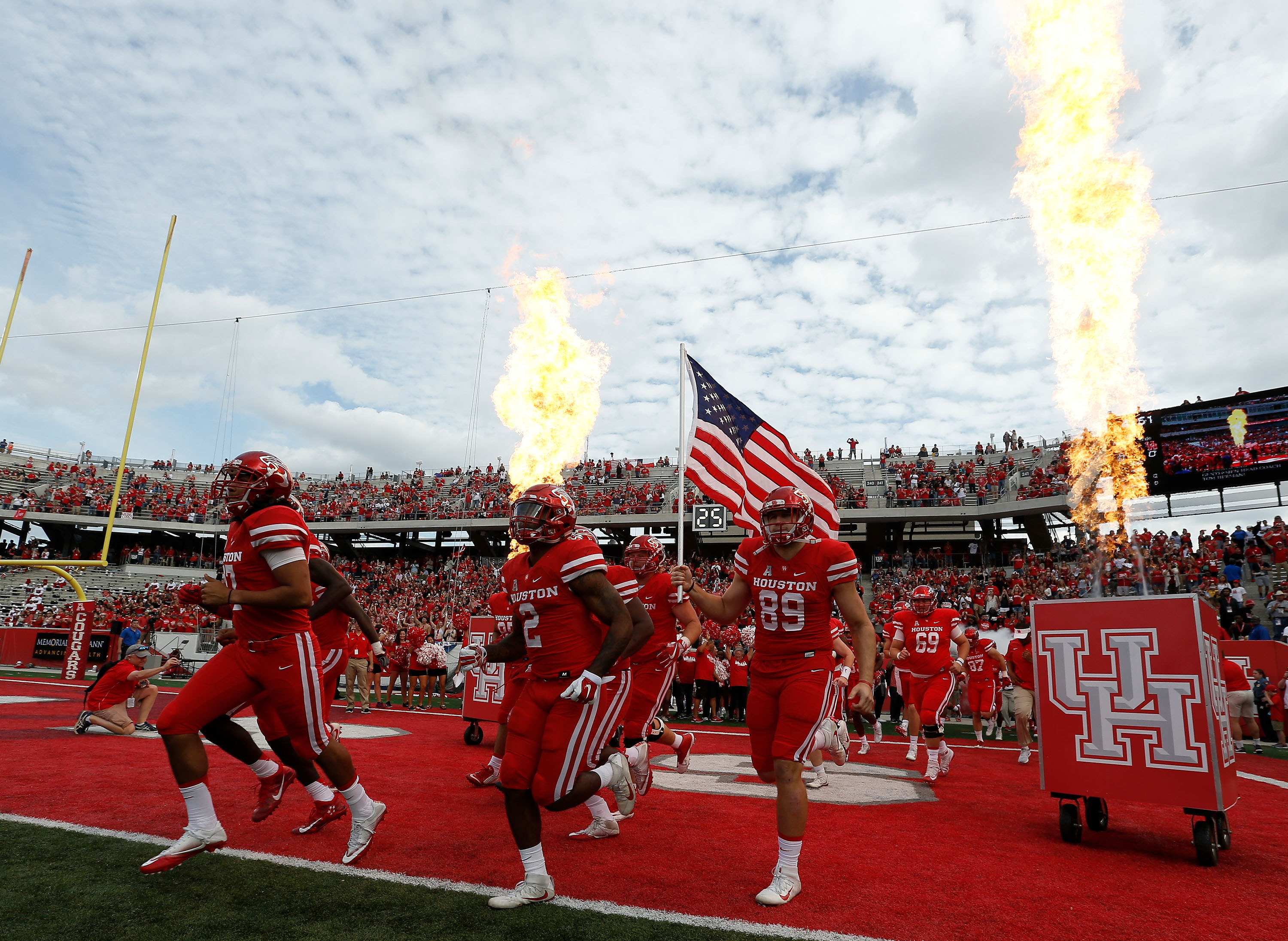 NCAA Football: Tulane at Houston