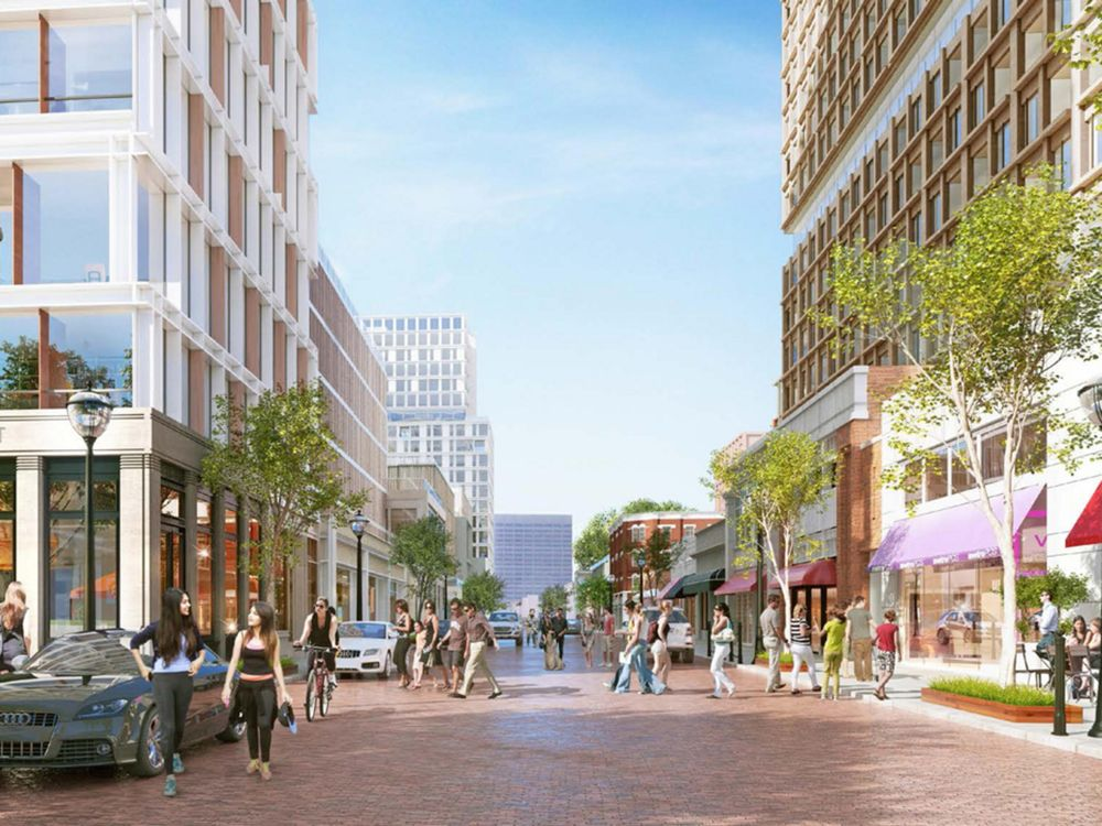 The WRS vision for Underground Atlanta.