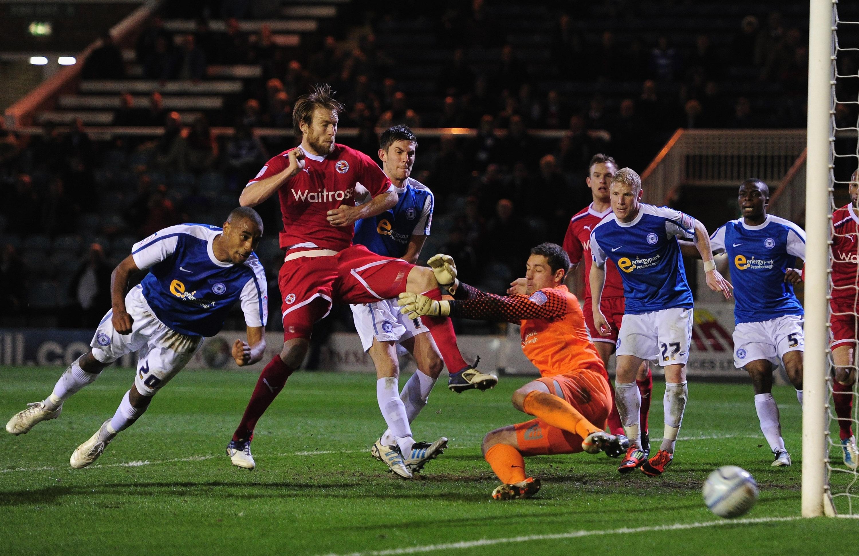 Peterborough United v Reading - npower Championship