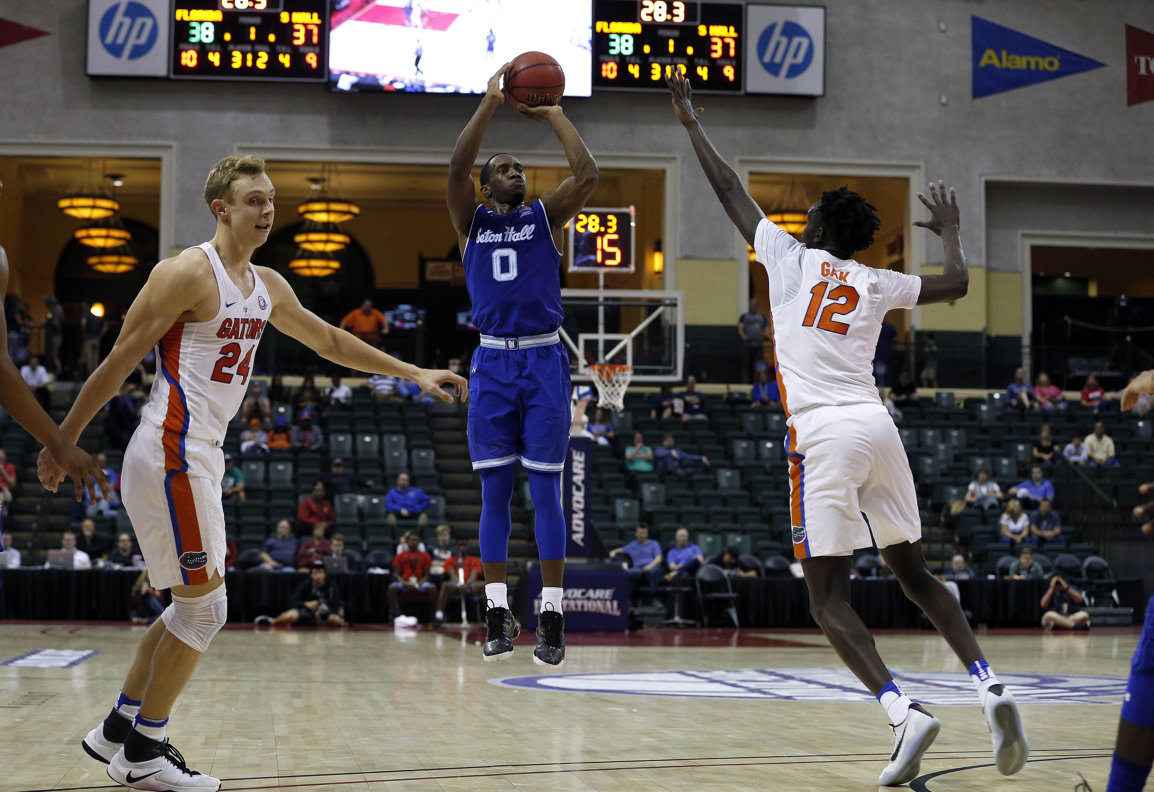 NCAA Basketball: Advocare Invitational-Florida vs Seton Hall