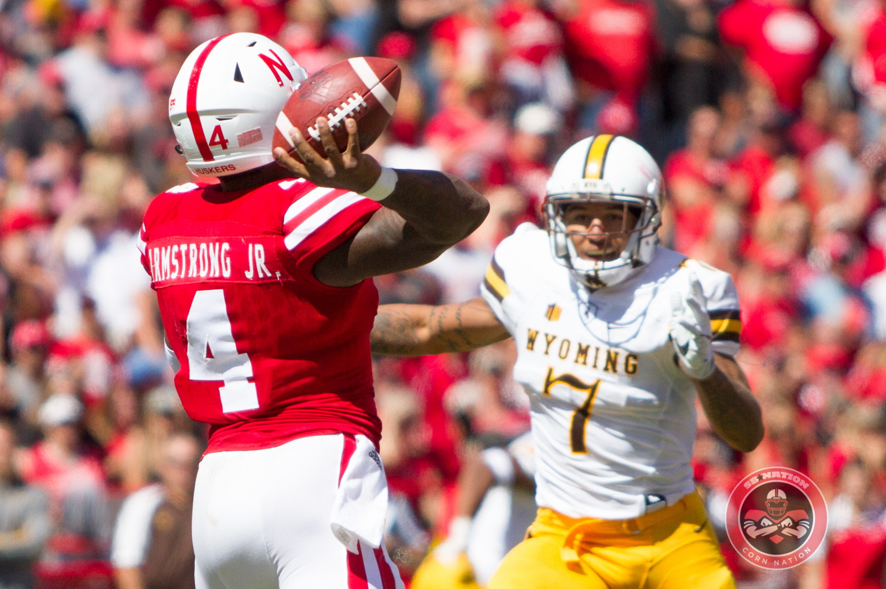 Gallery: Armstrong Sets Record, Huskers Move to 2-0