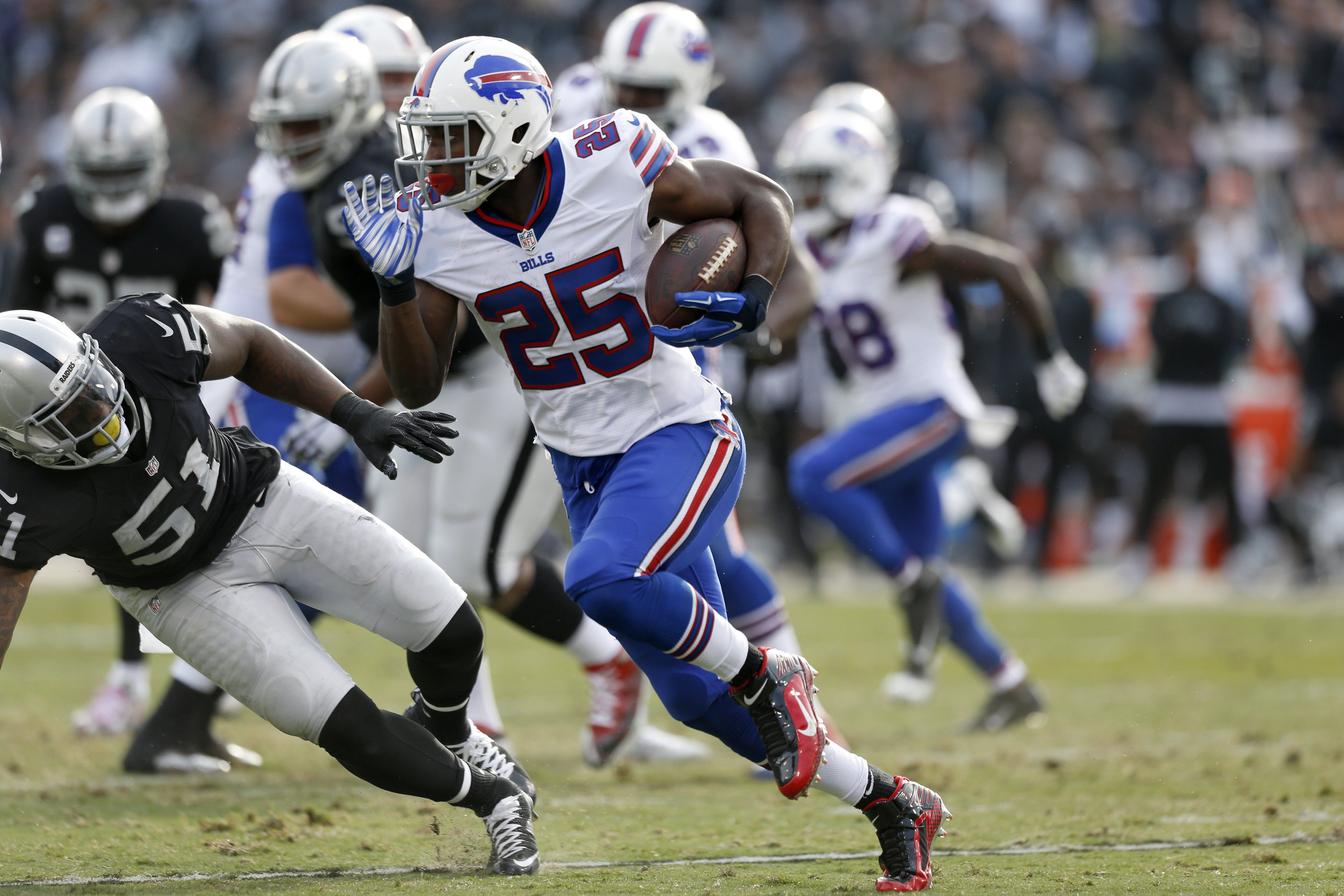 NFL: Buffalo Bills at Oakland Raiders
