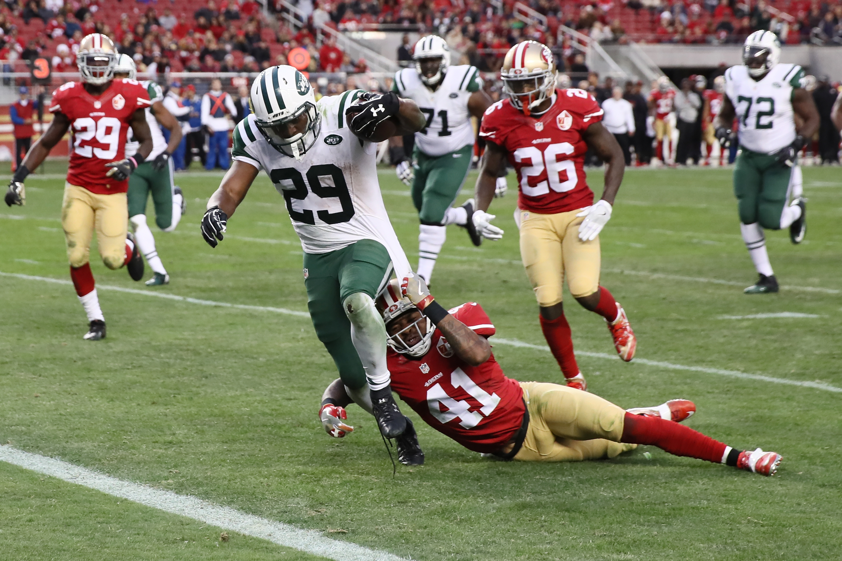 New York Jets v San Francisco 49ers