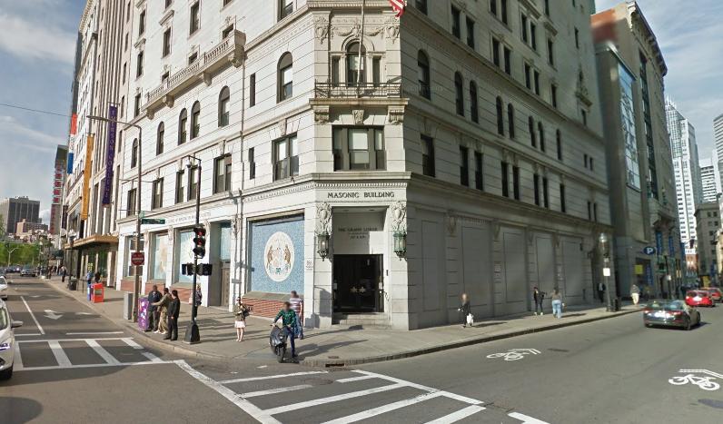 Masonic Grand Lodge in Boston