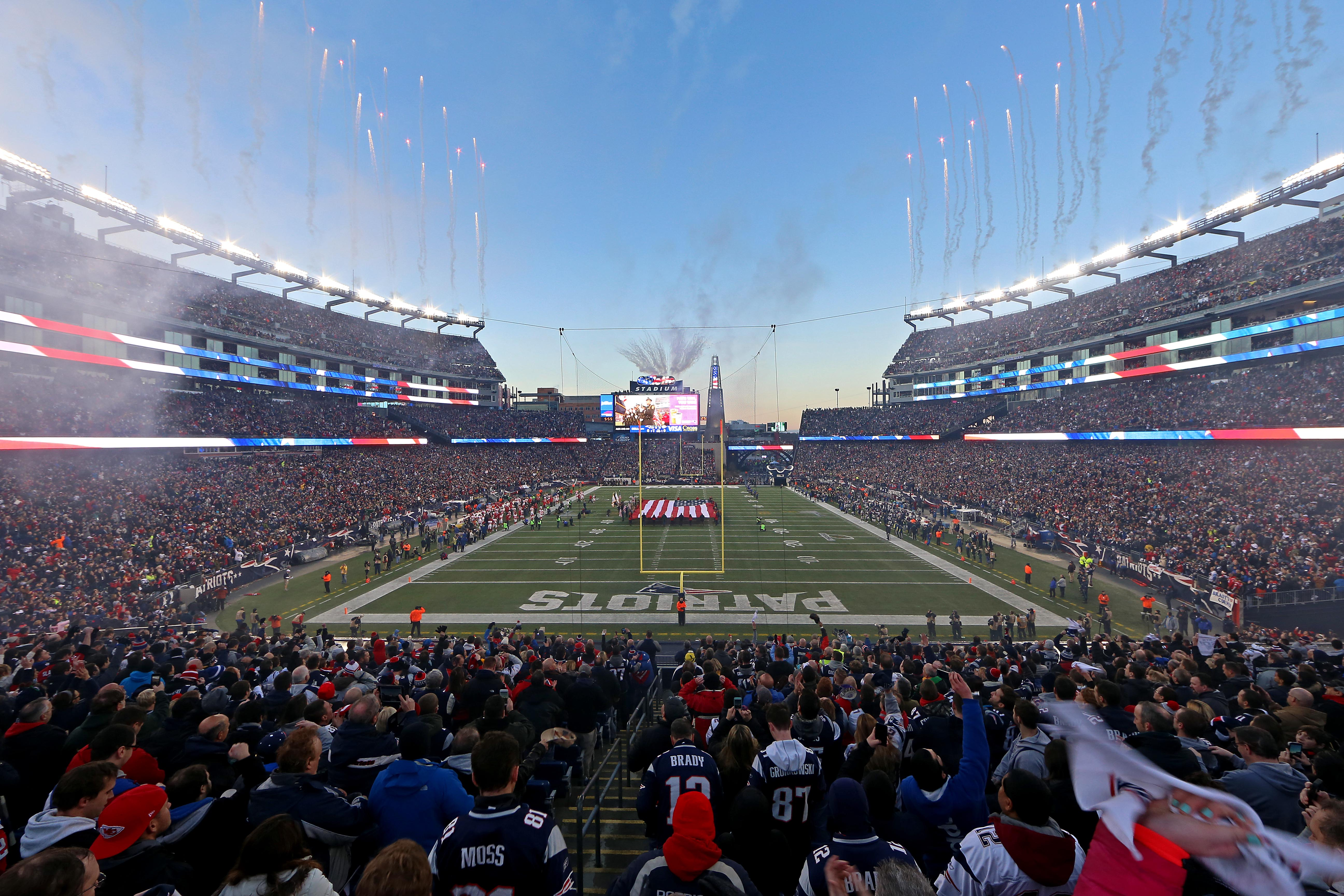 NFL: Baltimore Ravens at New England Patriots