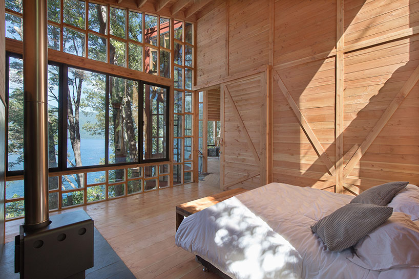 Lavish treehouse-like home frames knockout natural views in Chile