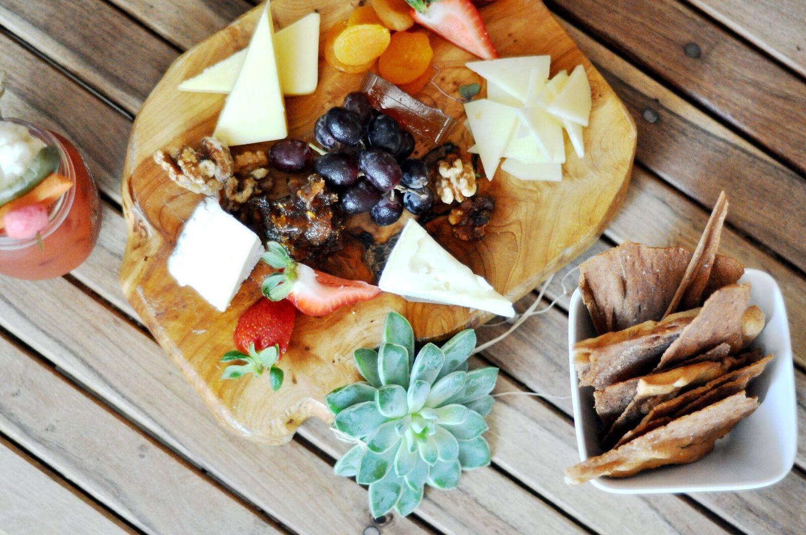 The cheese board at Walton's