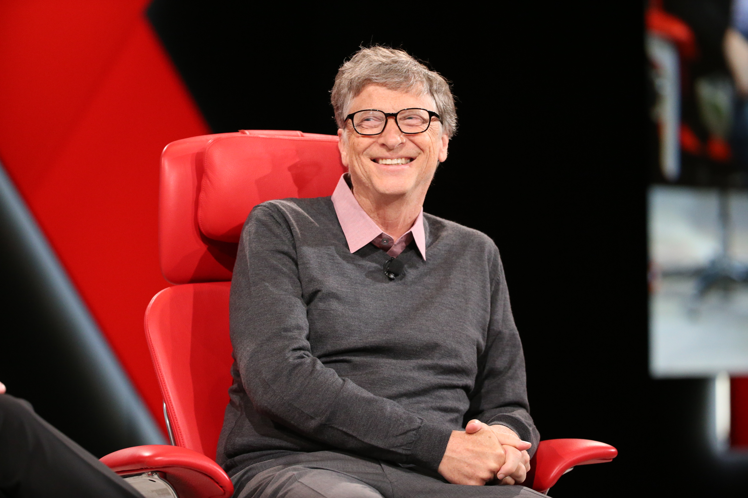 Bill Gates, speaking at Code Conference 2016