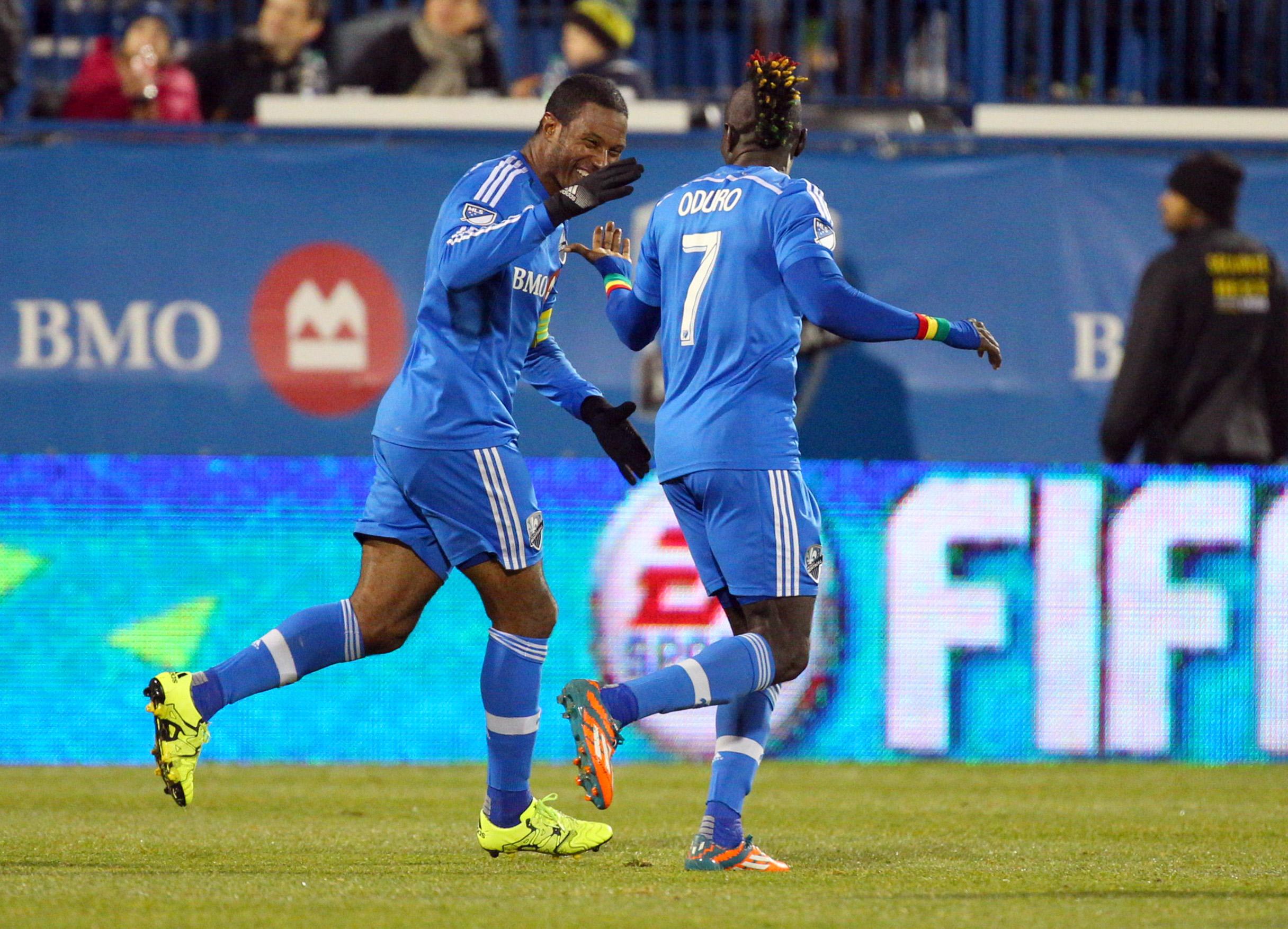 MLS: Playoffs-Columbus Crew at Montreal Impact