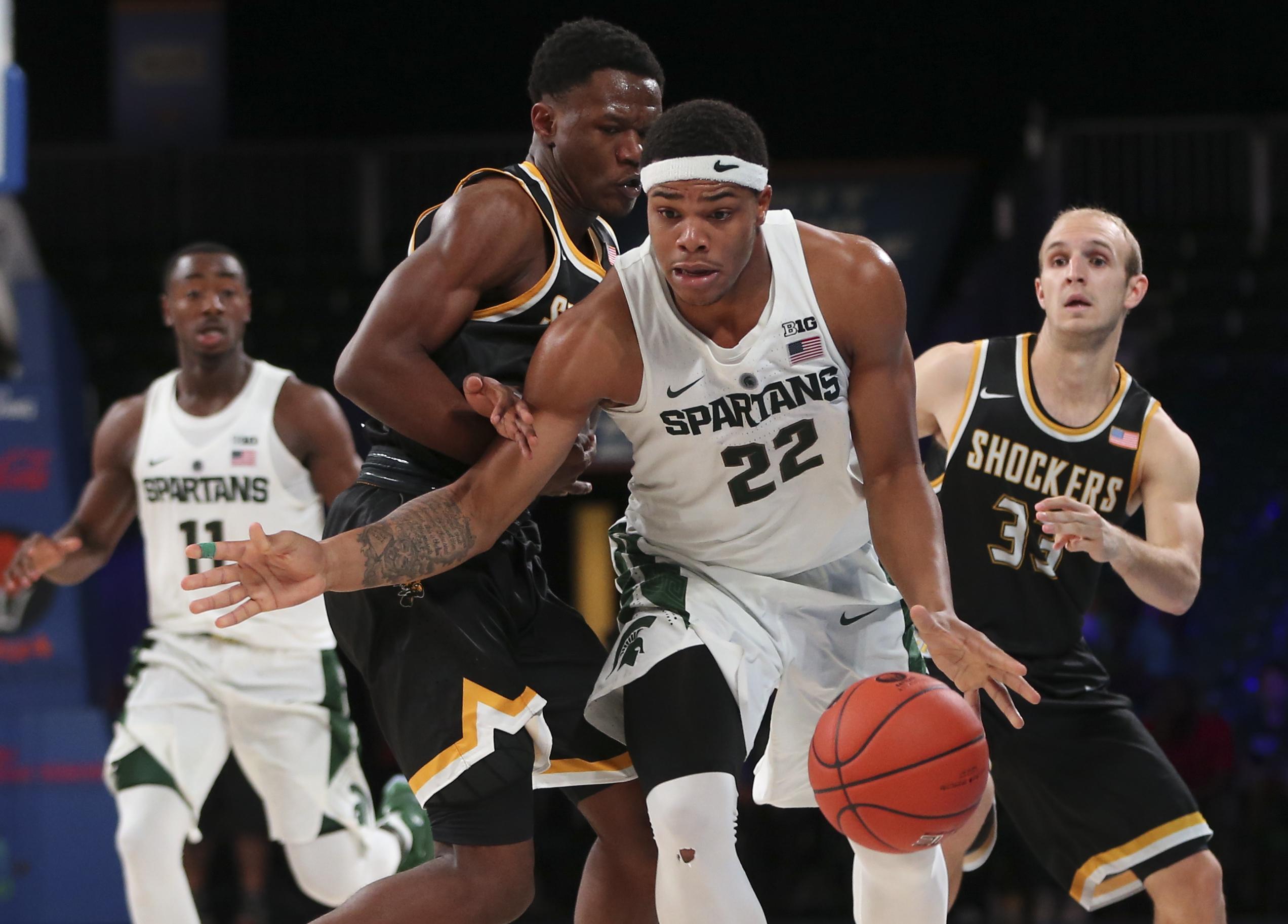 NCAA Basketball: Battle 4 Atlantis-Wichita State vs Michigan State