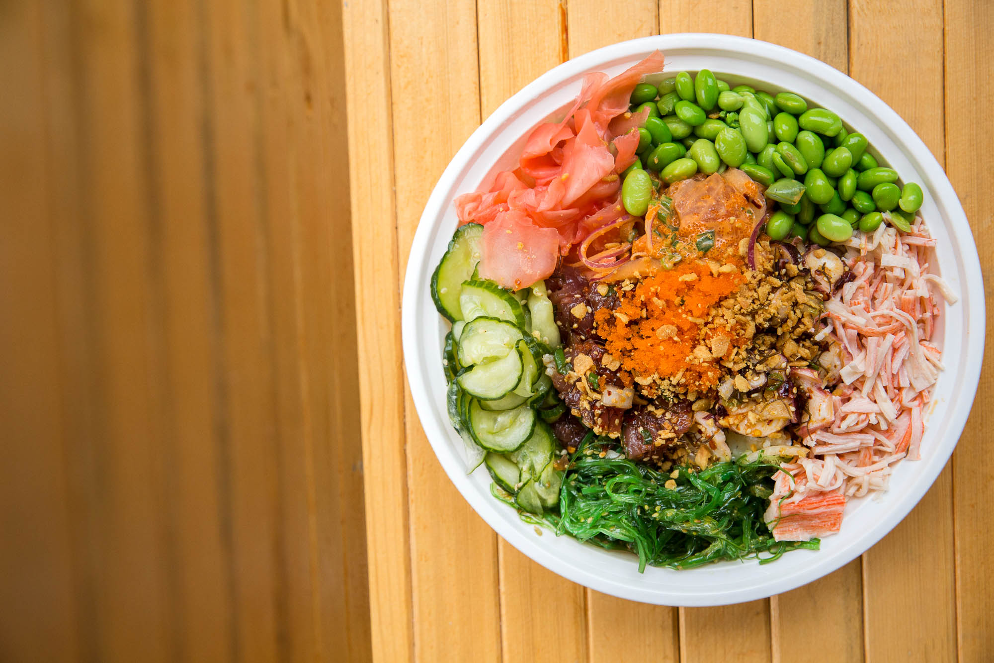 A bowl of poke at Gopoké in the International District.