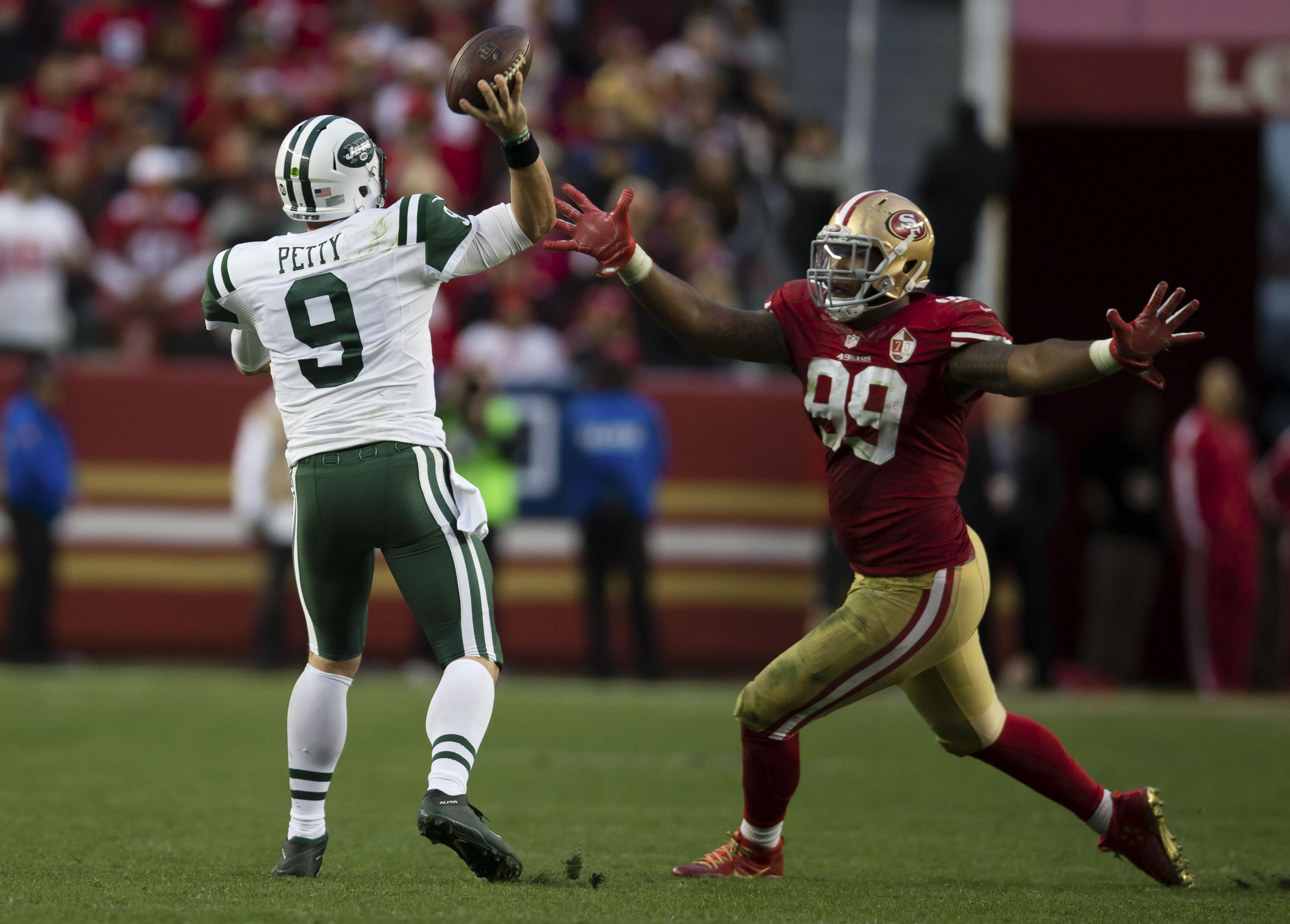 NFL: New York Jets at San Francisco 49ers