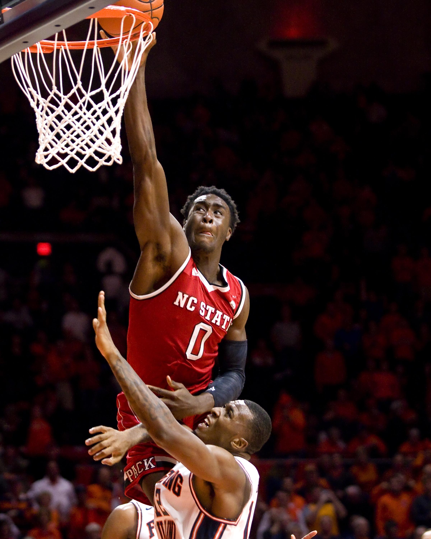 NCAA Basketball: North Carolina State at Illinois