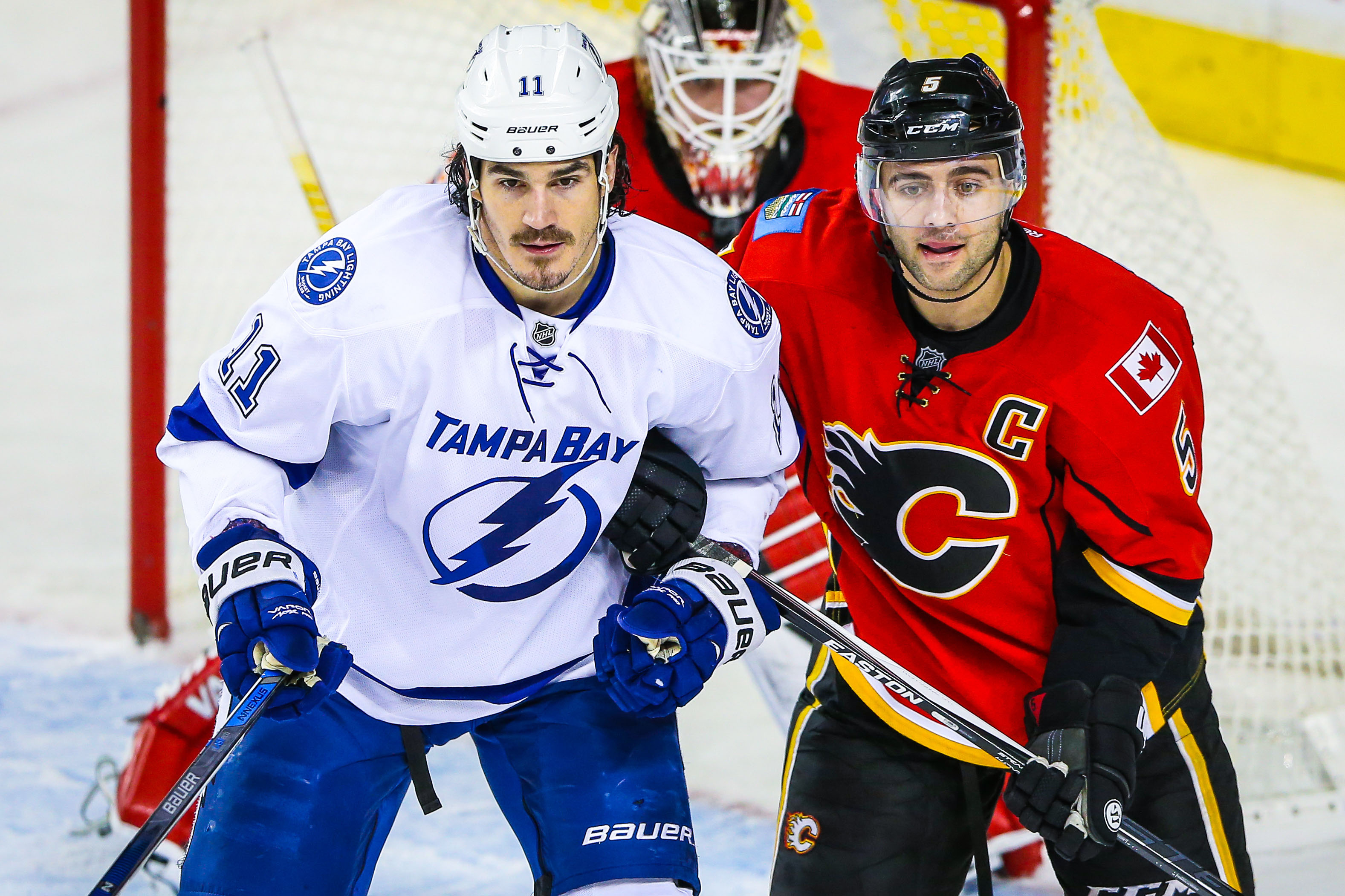 NHL: Tampa Bay Lightning at Calgary Flames