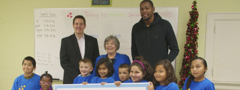 Kevin Durant donated $57,000 to make sure homeless Oklahoma kids can go to school