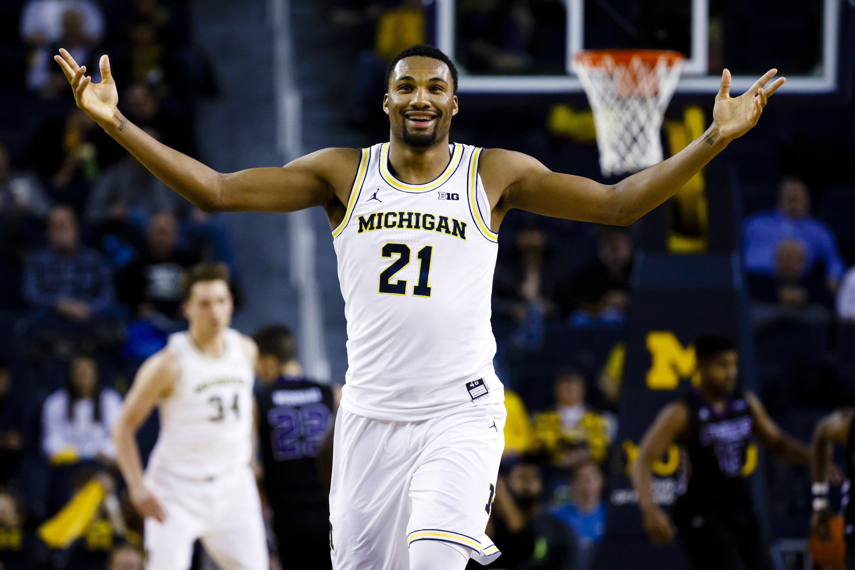 NCAA Basketball: Central Arkansas at Michigan