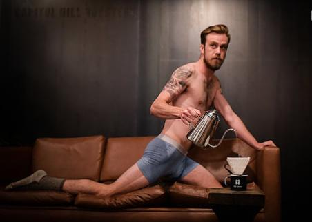 Shirtless Baristas Make Your Caffeine Dreams Come True