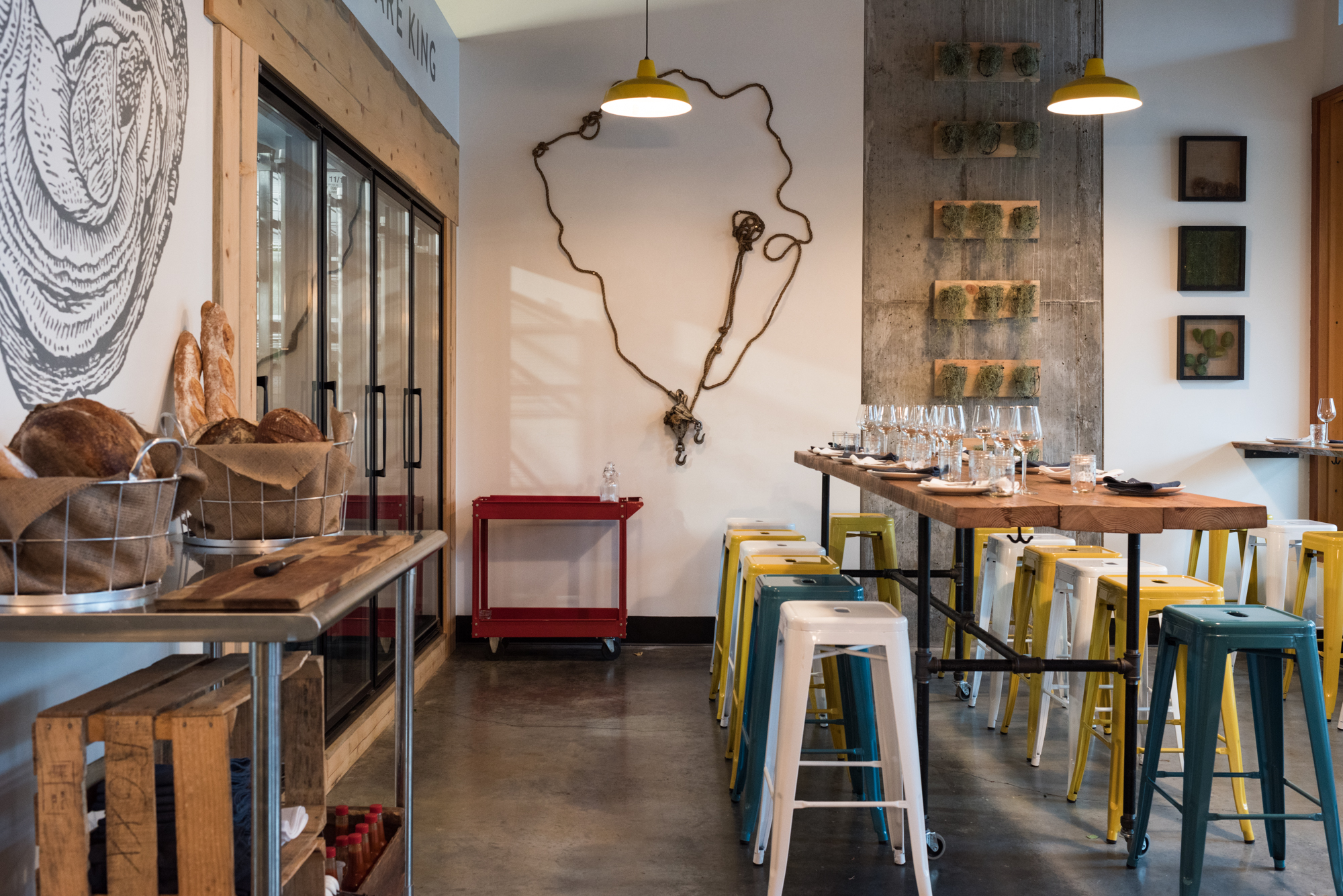 Olympia Oyster Bar Opens Tonight on N Mississippi, Menu Revealed