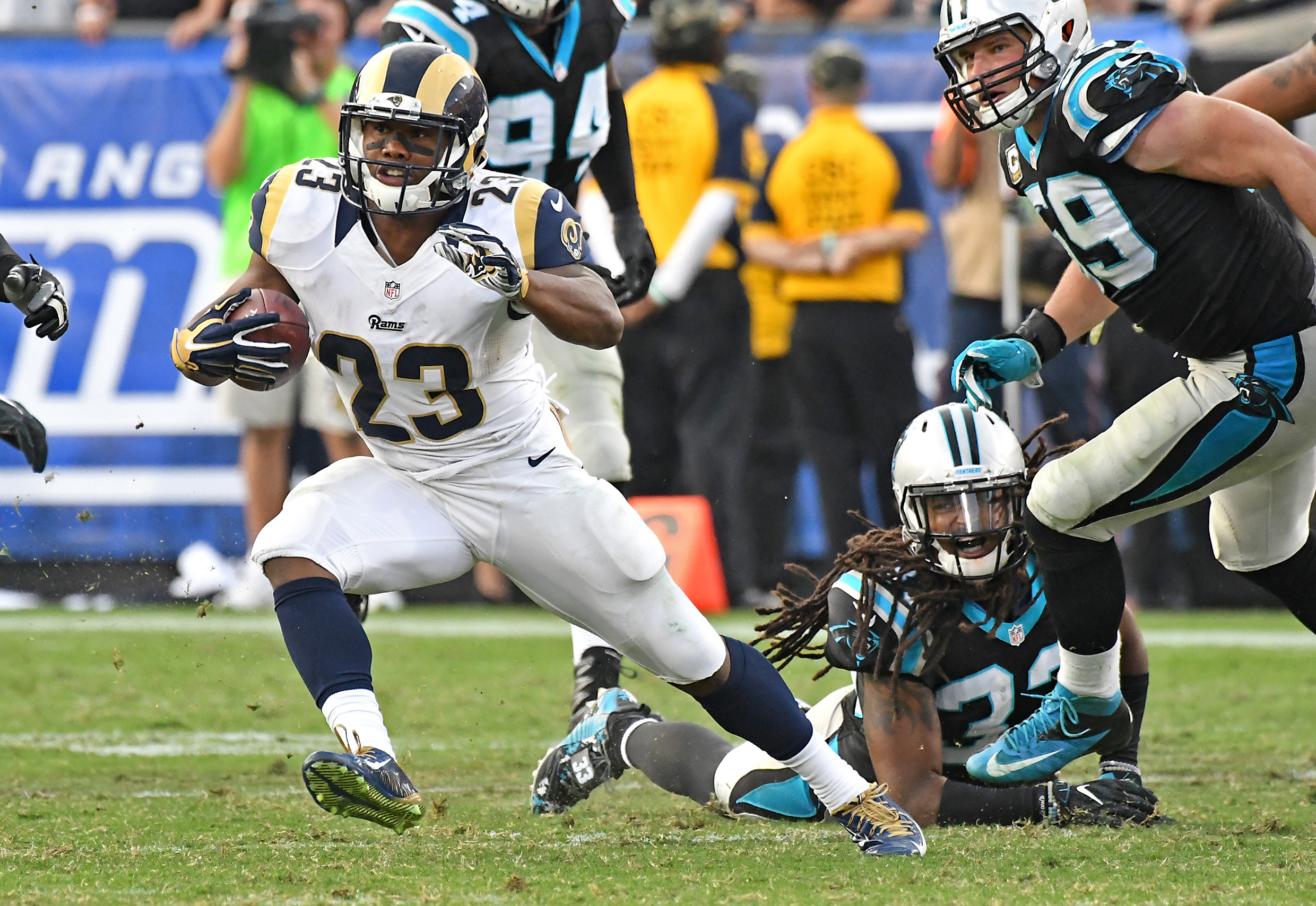 Los Angeles Rams RB Benny Cunningham