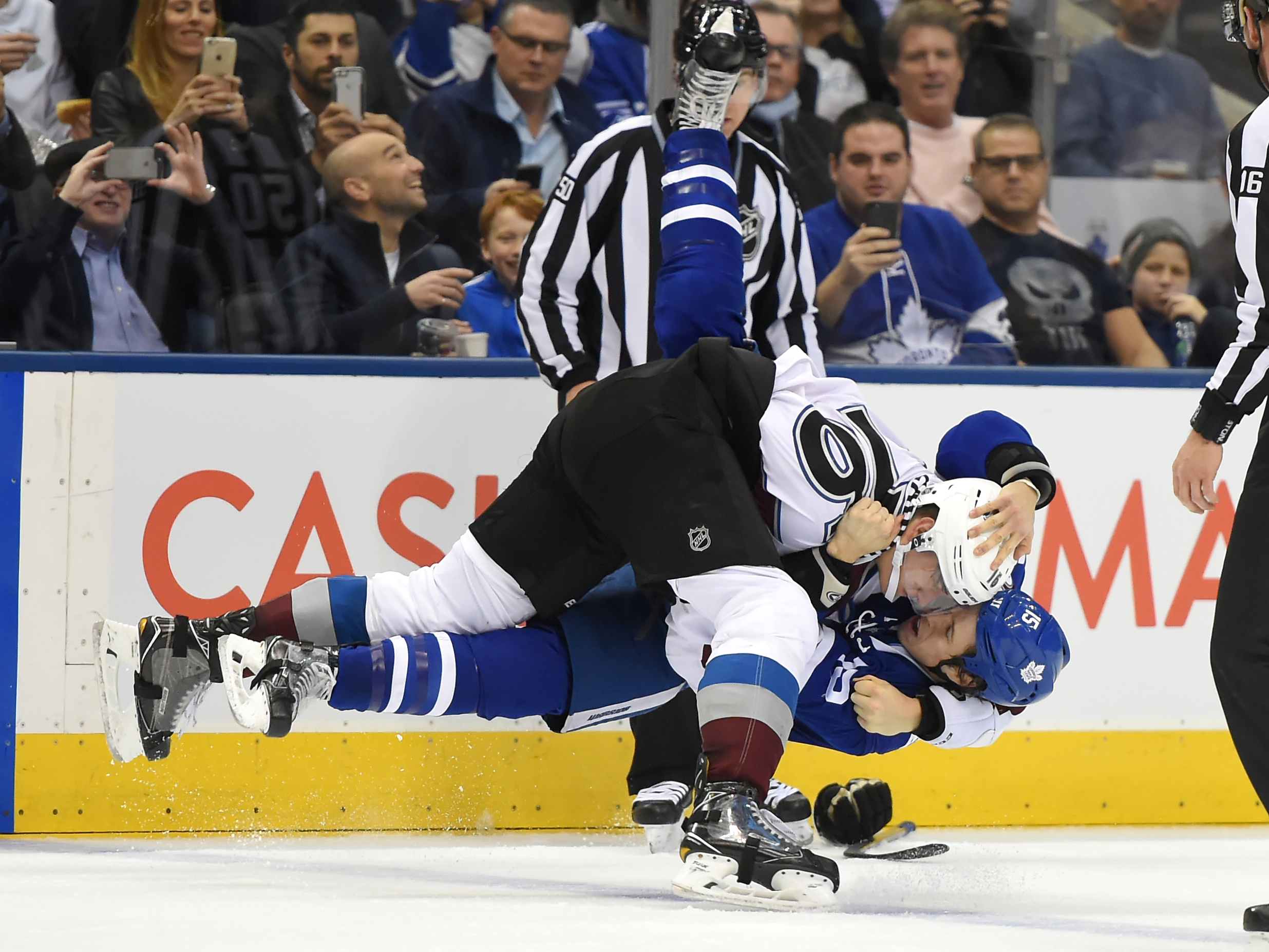 NHL: Colorado Avalanche at Toronto Maple Leafs