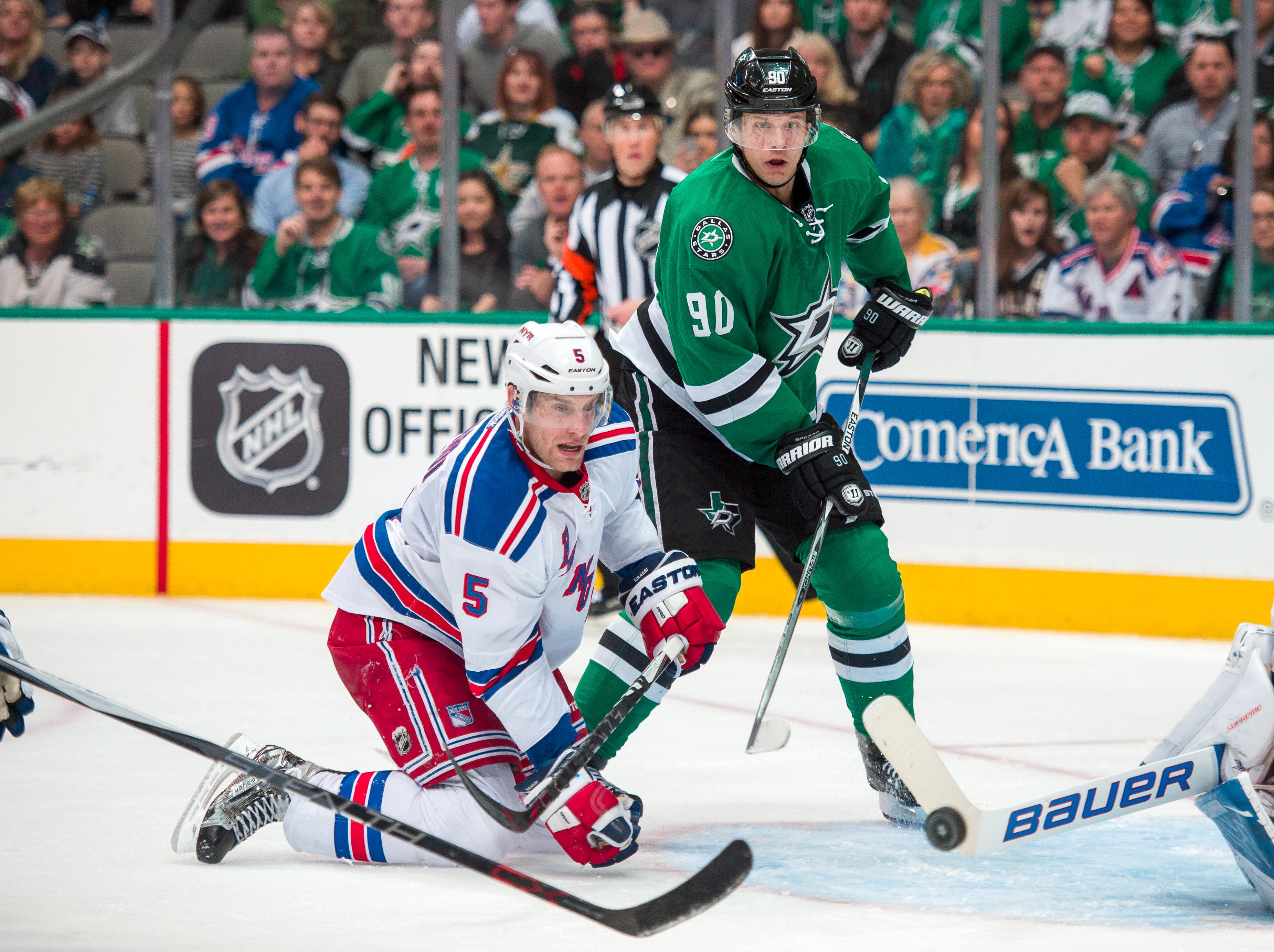 NHL: New York Rangers at Dallas Stars