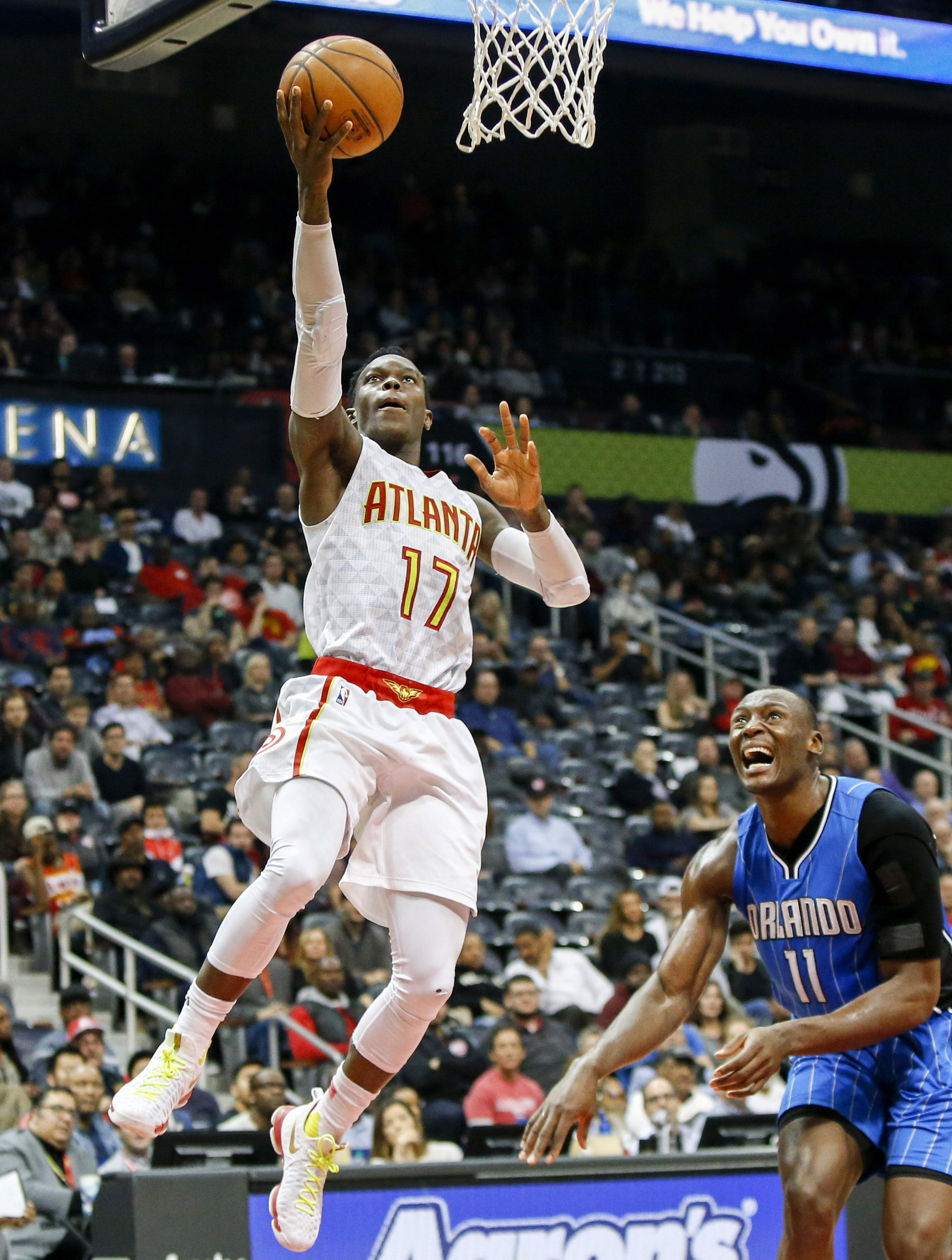 NBA: Orlando Magic at Atlanta Hawks