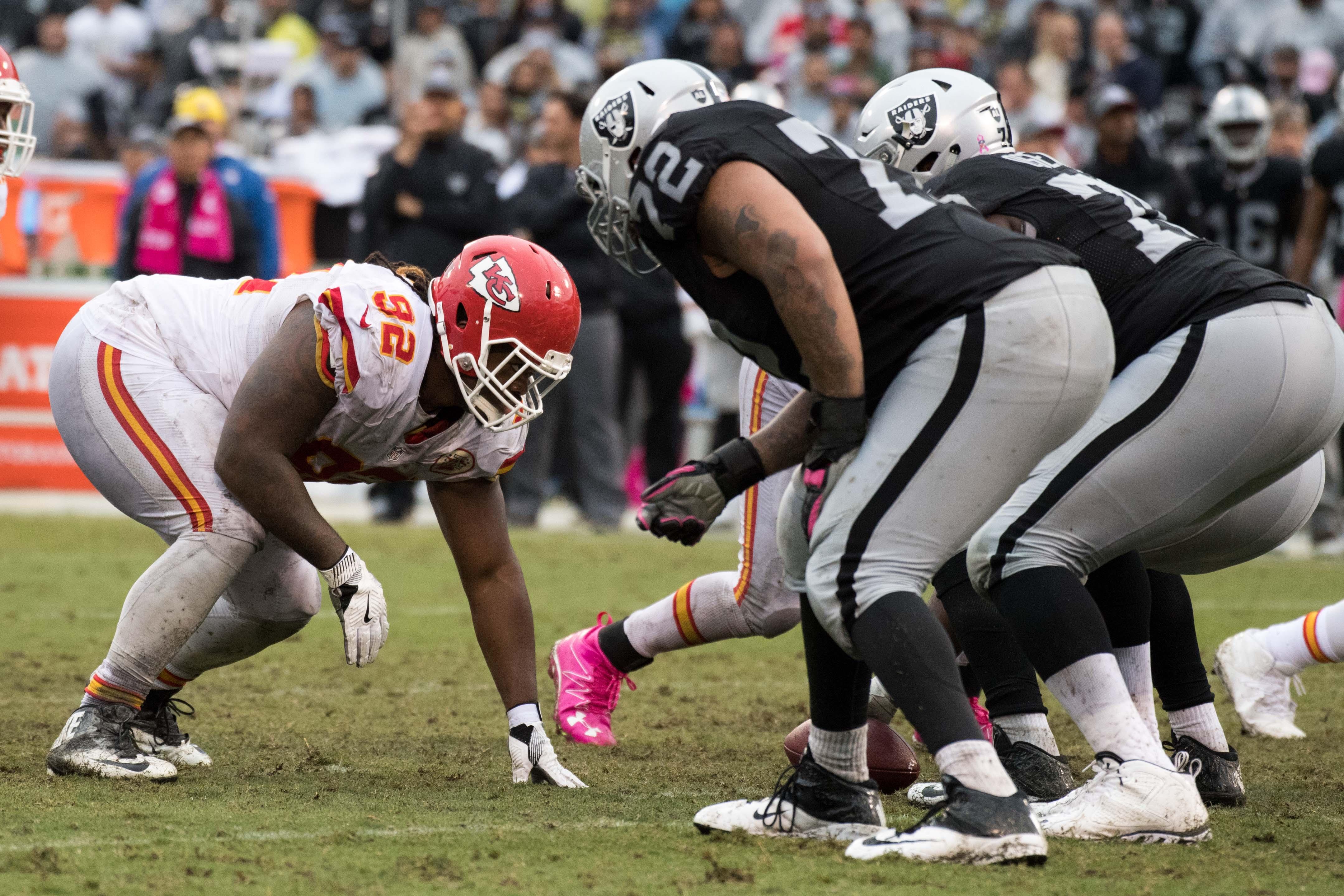 NFL: Kansas City Chiefs at Oakland Raiders