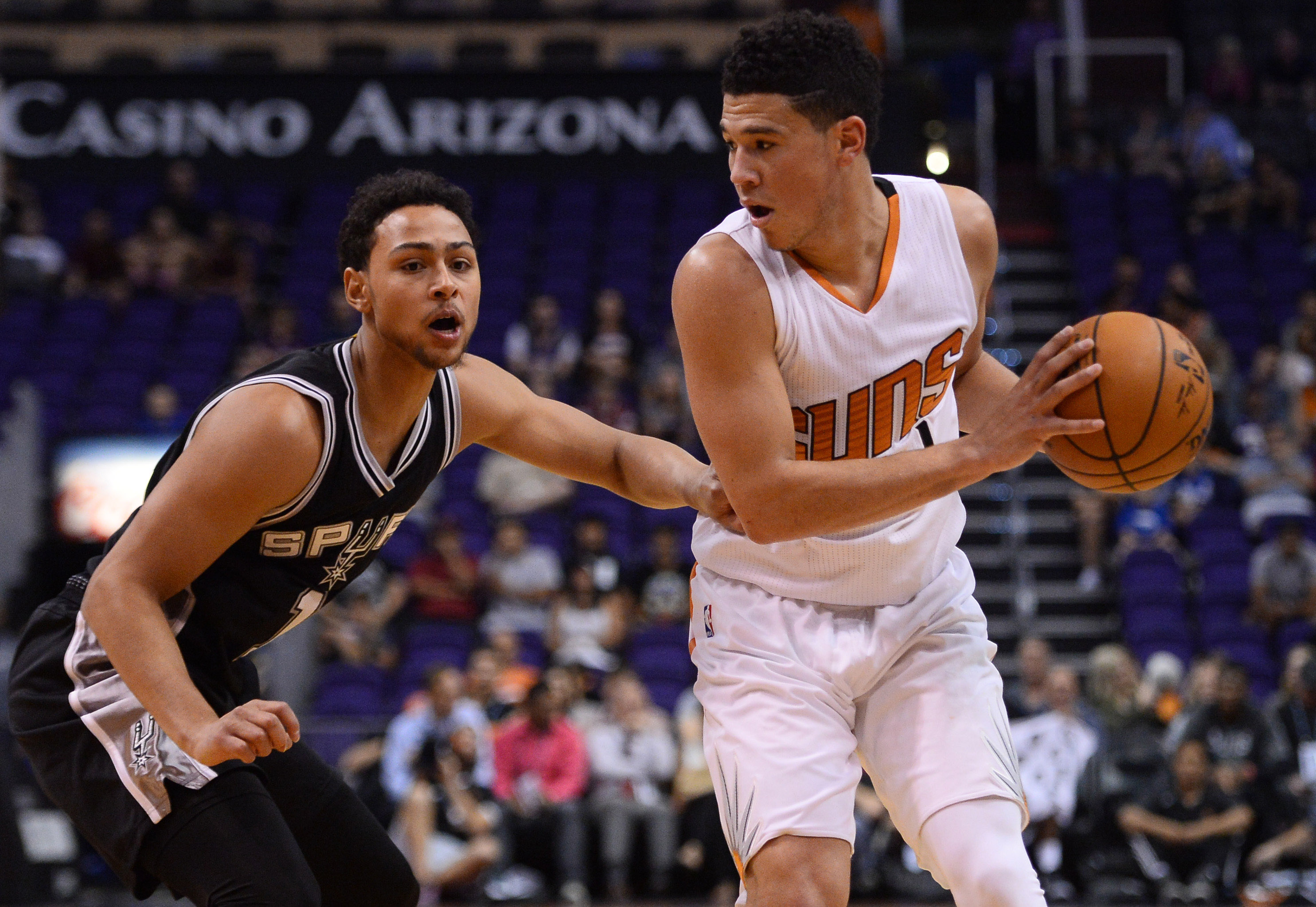 NBA: Preseason-San Antonio Spurs at Phoenix Suns