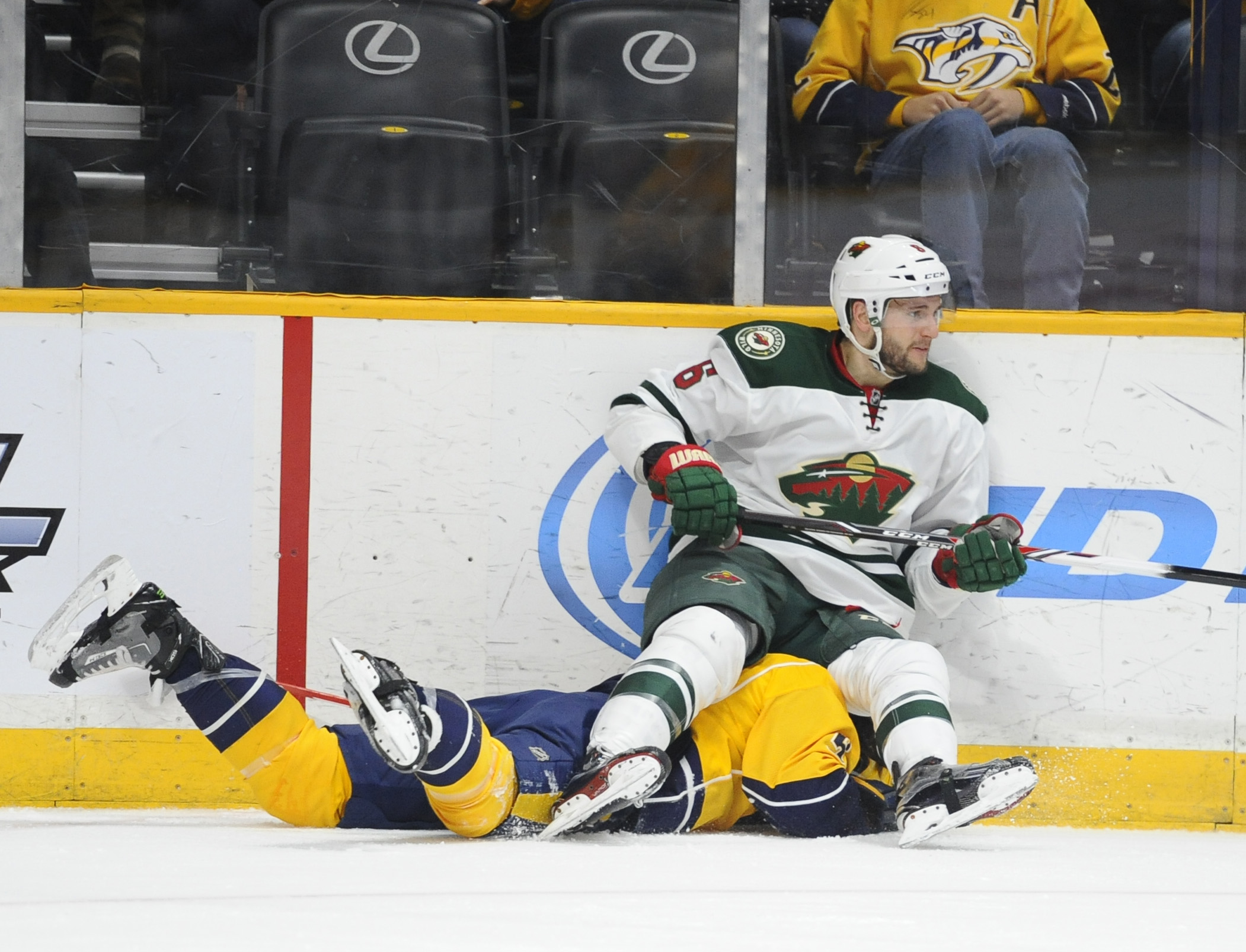 NHL: Minnesota Wild at Nashville Predators