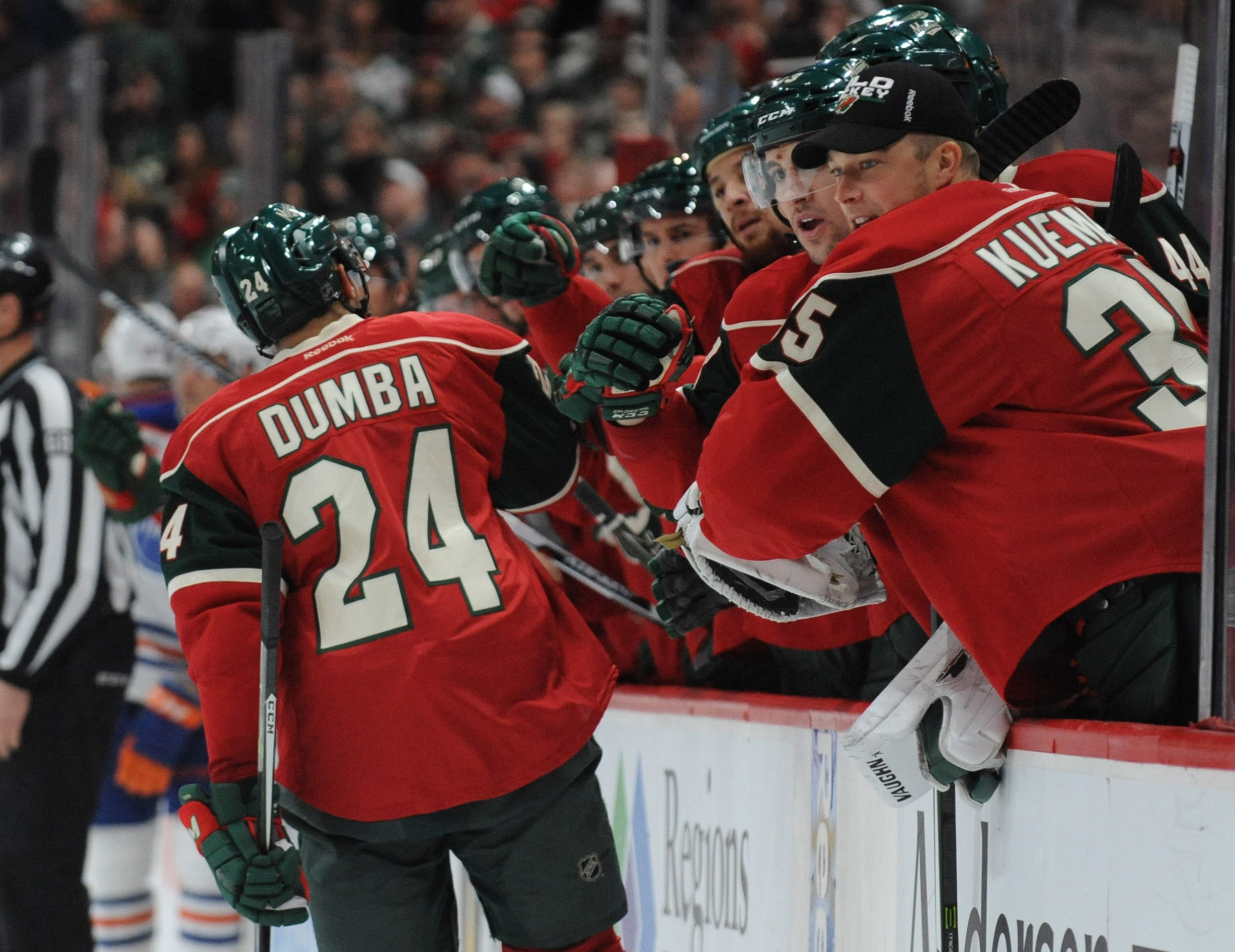 NHL: Edmonton Oilers at Minnesota Wild