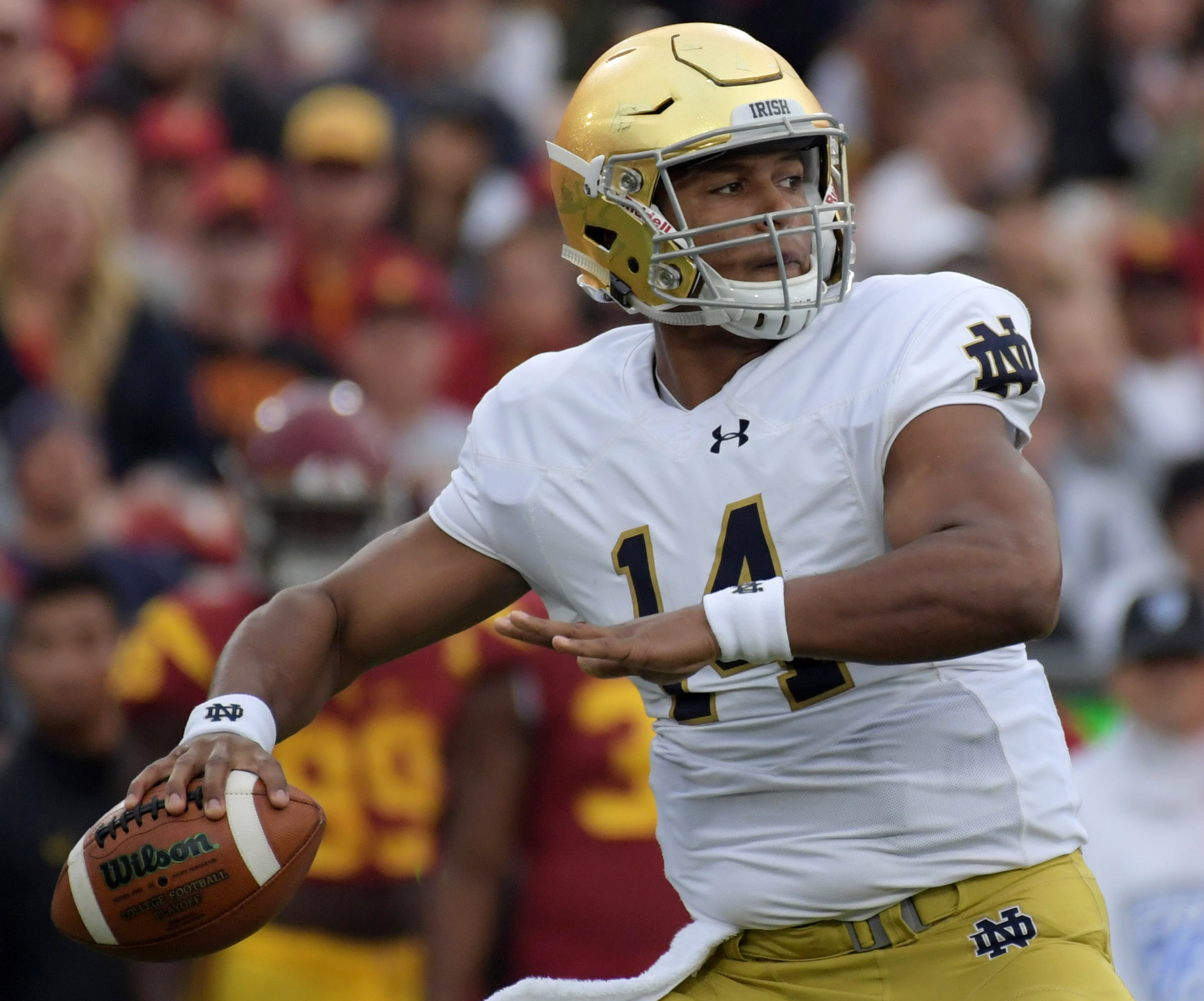 NCAA Football: Notre Dame at Southern California