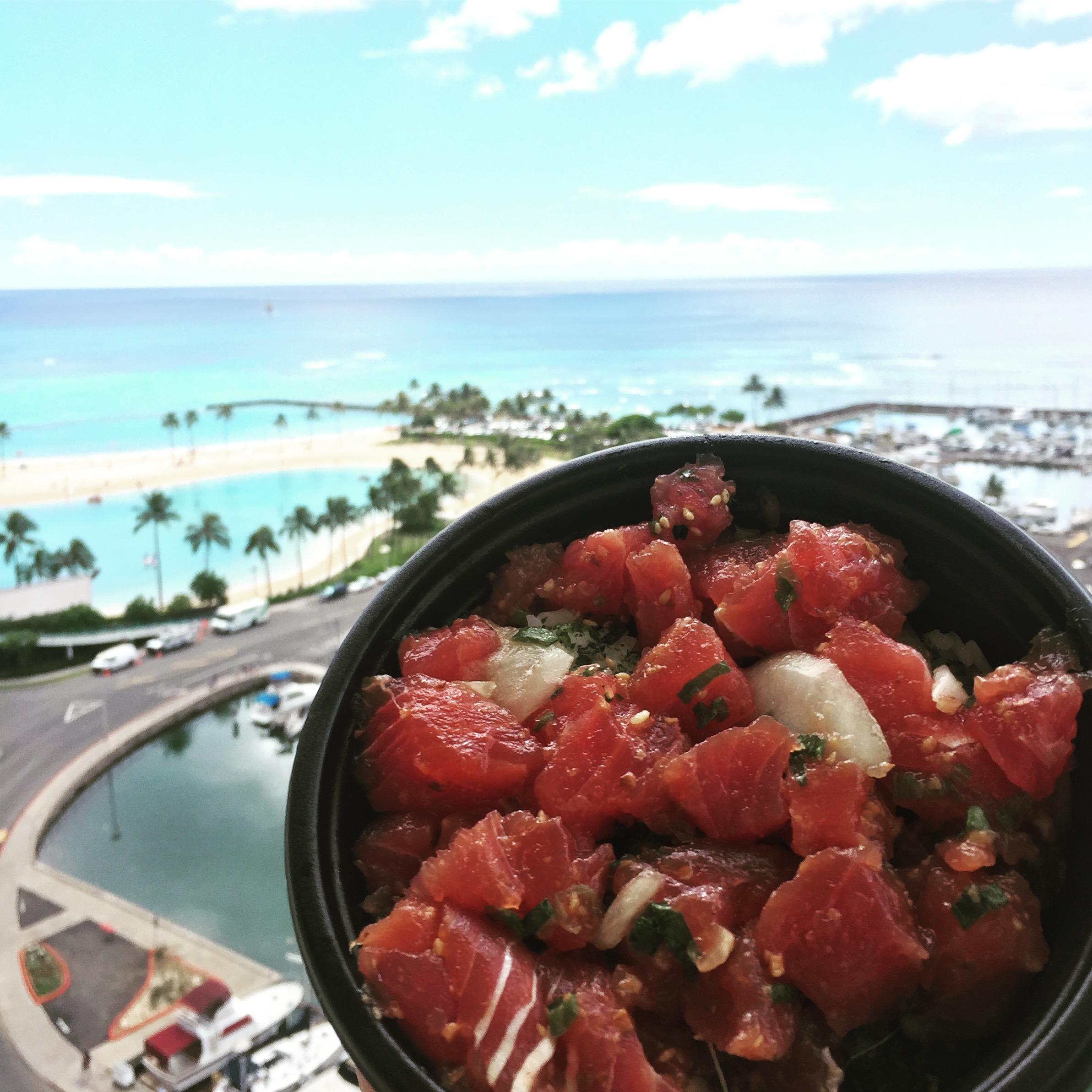 Poke in Honolulu