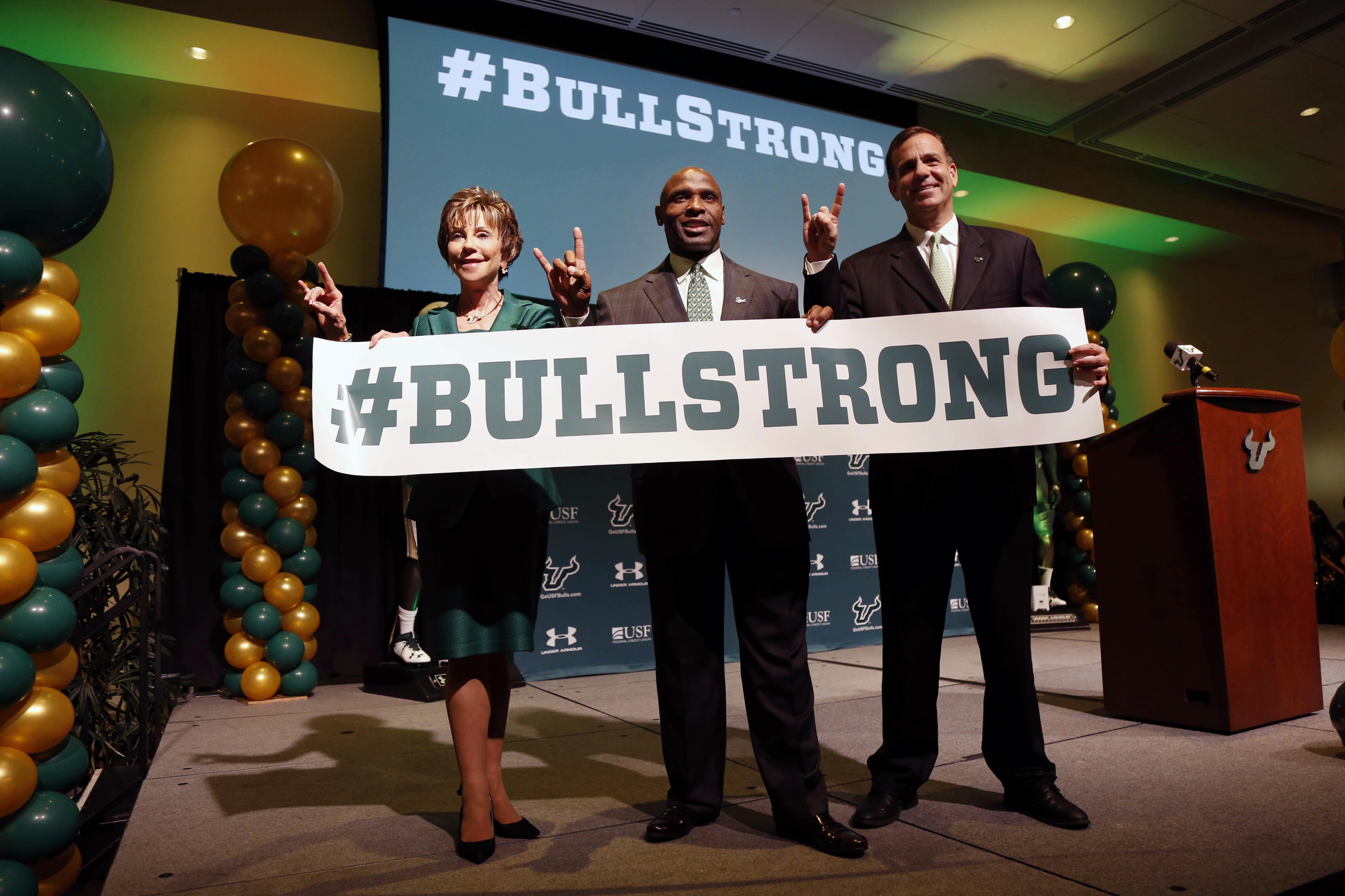 NCAA Football: South Florida-Charlie Strong Press Conference