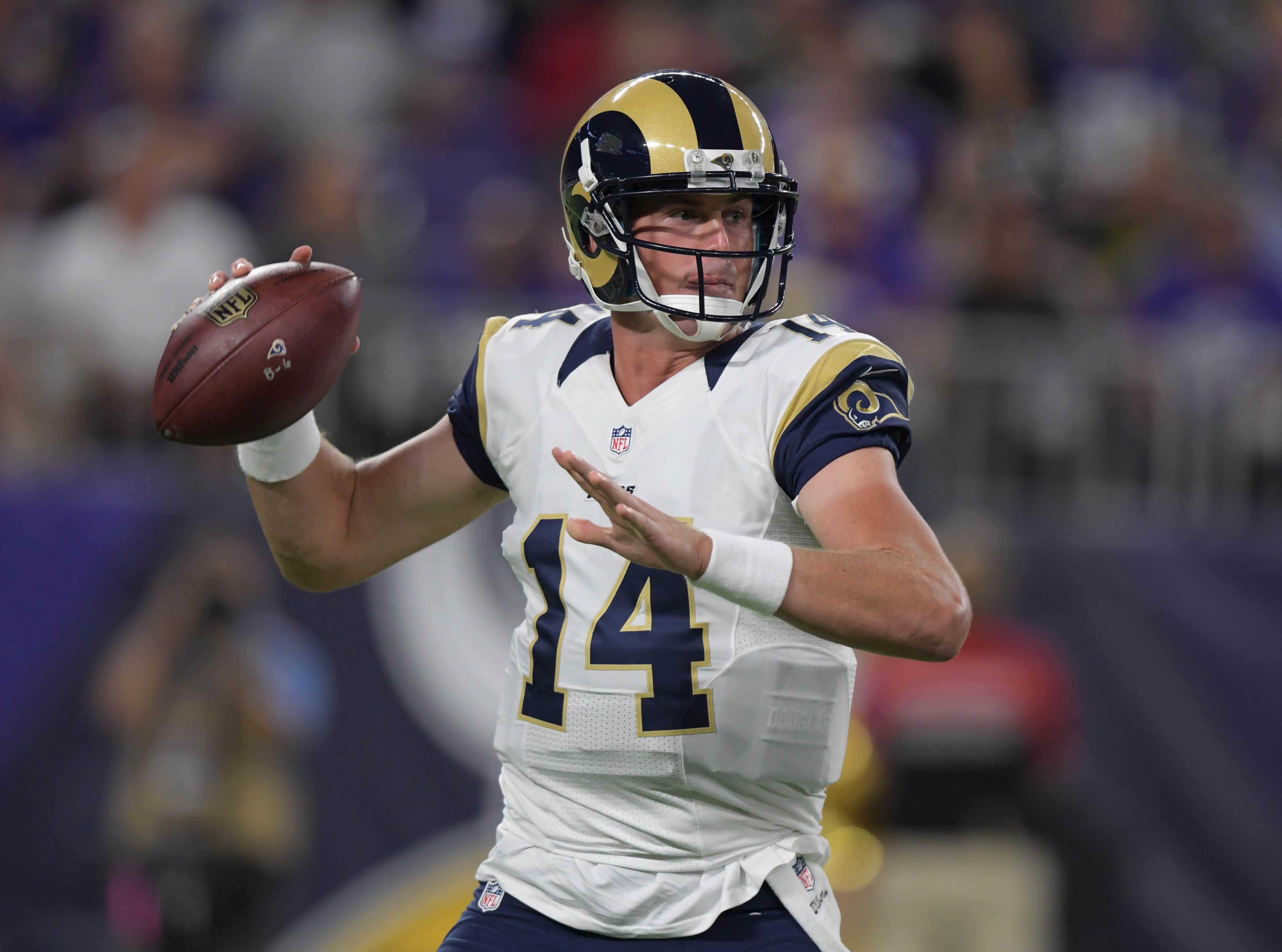 Los Angeles Rams QB Sean Mannion