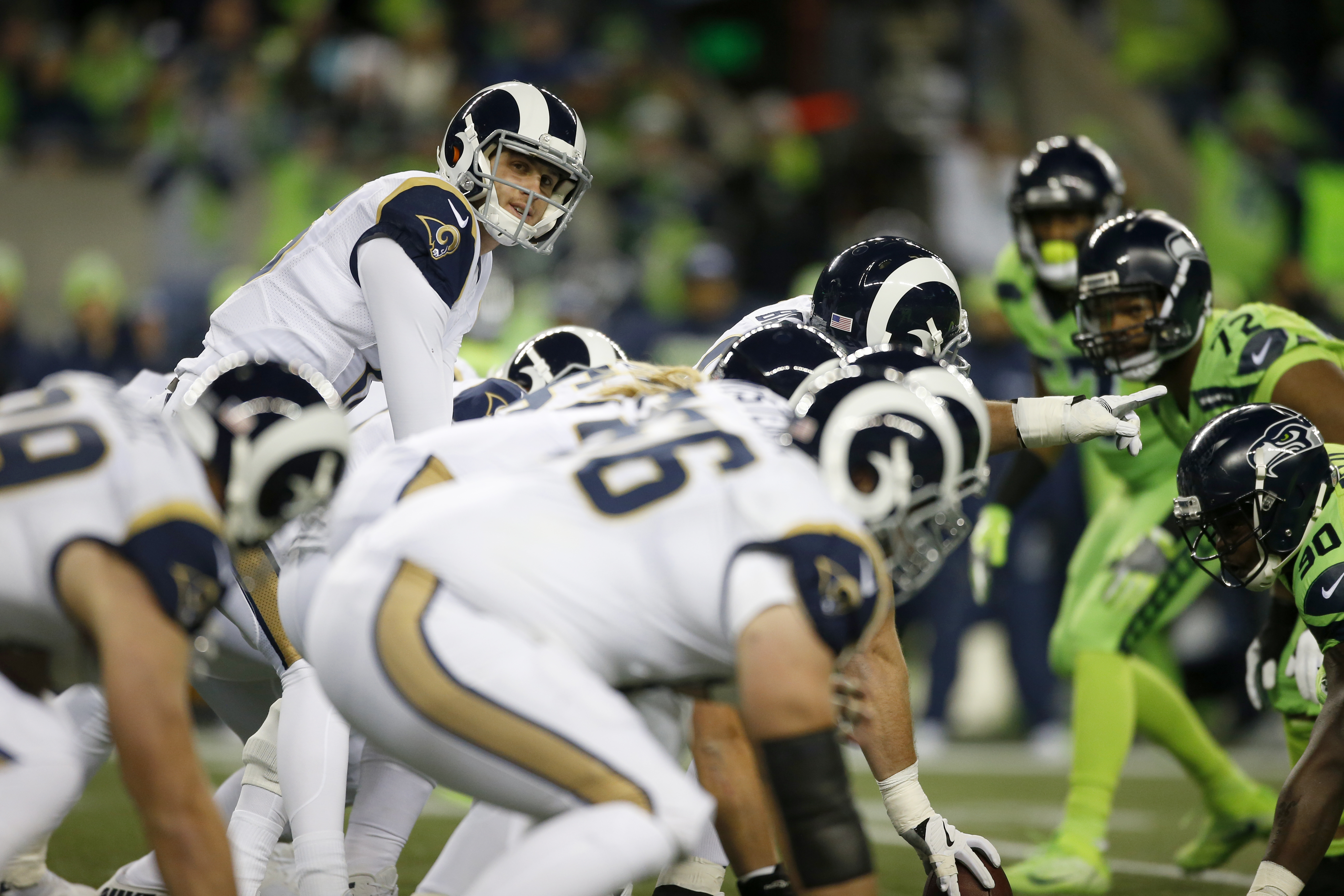 Los Angeles Rams At Seattle Seahawks
