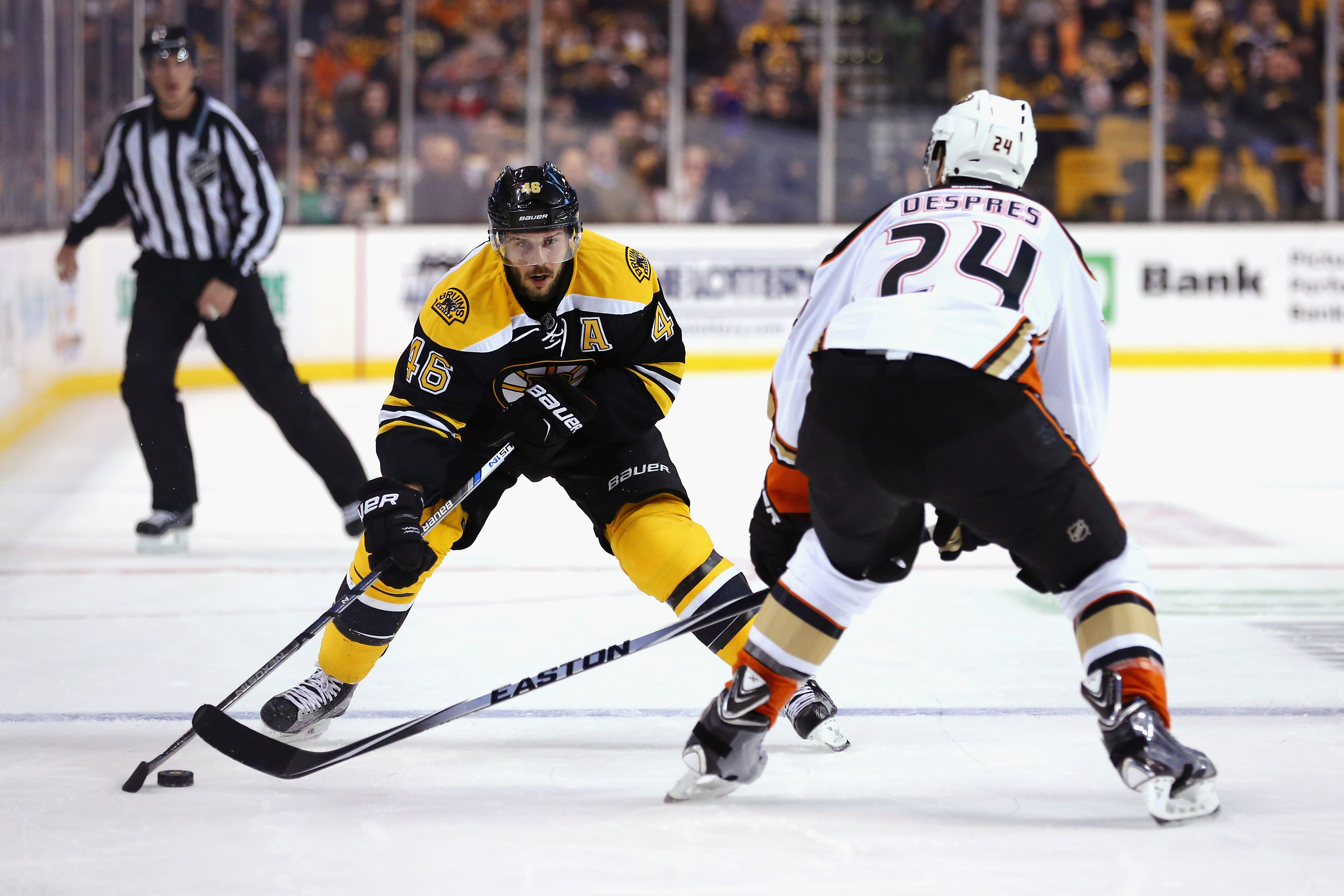 Anaheim Ducks v Boston Bruins